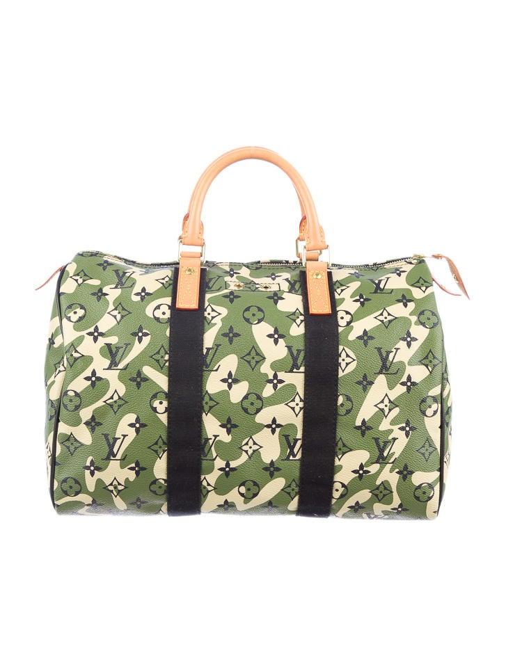Louis Vuitton Monogramouflage Speedy 35 Handbags
