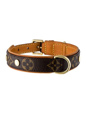 Louis Vuitton Spiked Dog Collar