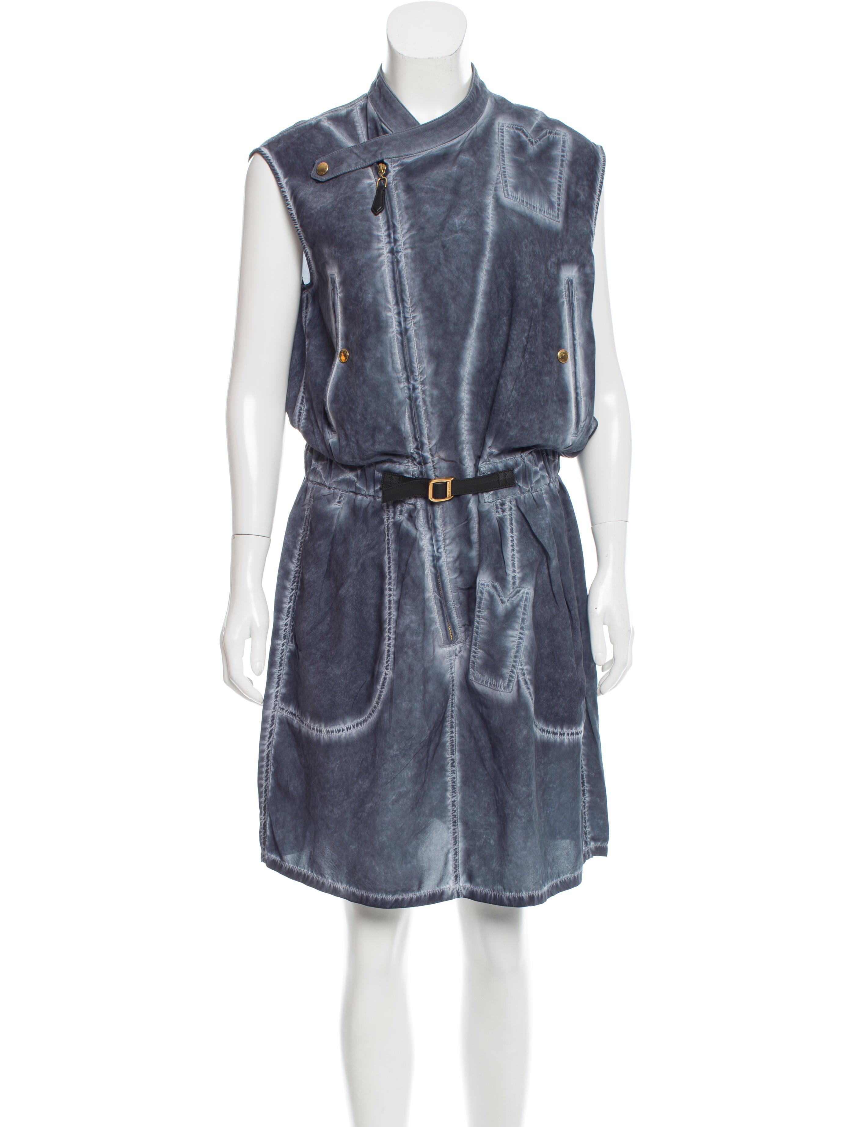 Louis Vuitton 2016 Silk Dress Clothing Lou114360 The