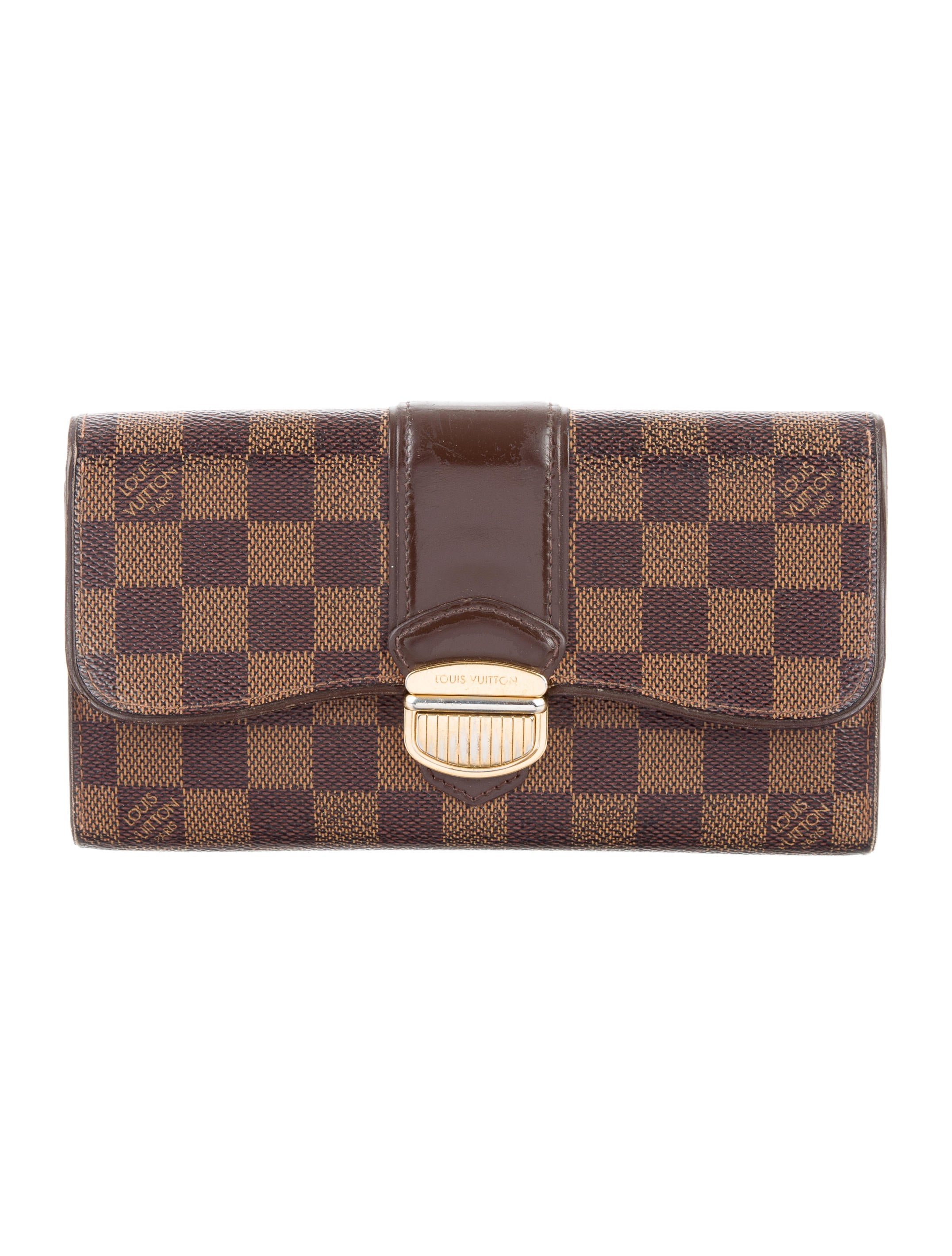 7d7e359471cfb Louis Vuitton Damier Ebene Sistina Wallet - Accessories - LOU114640 ...