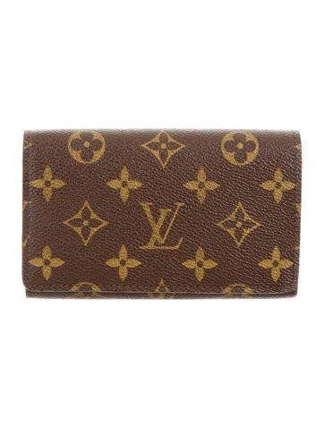 Louis vuitton porte monnaie billets tr sor wallet w tags for Porte monnaie wallet