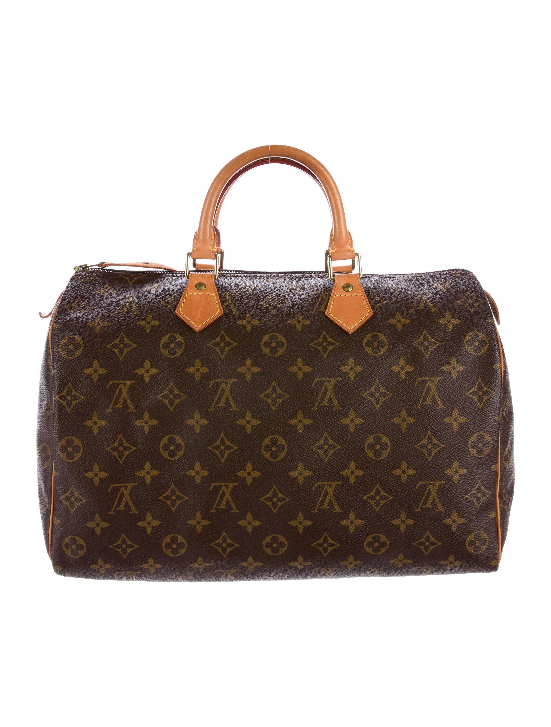 Louis vuitton monogram speedy 35 handbags lou115001 for Louis vuitton miroir speedy 35