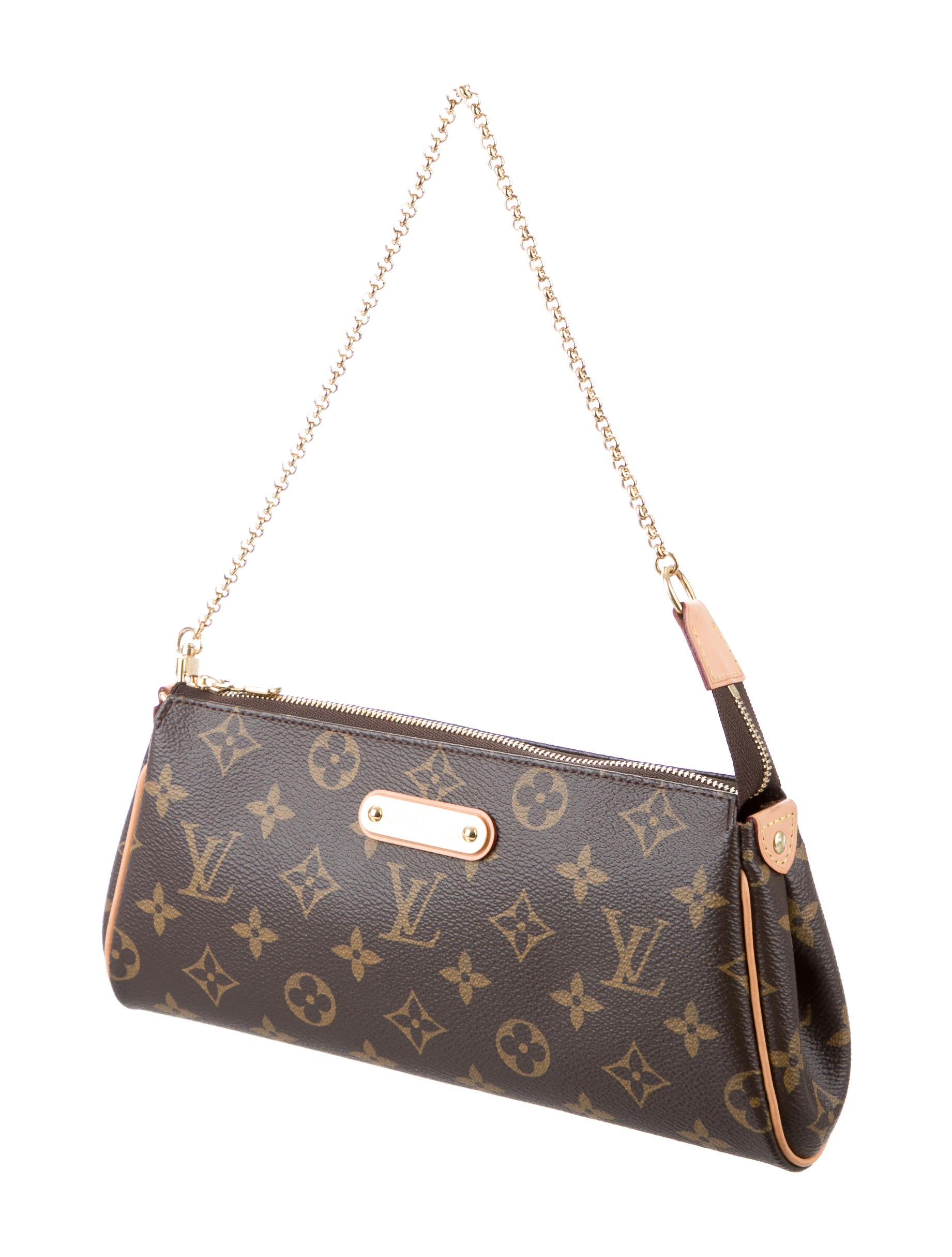 9b9f9a3c9f2c Louis Vuitton Modelo Eva. Louis Vuitton - Eva Clutch Damier Canvas Ebene