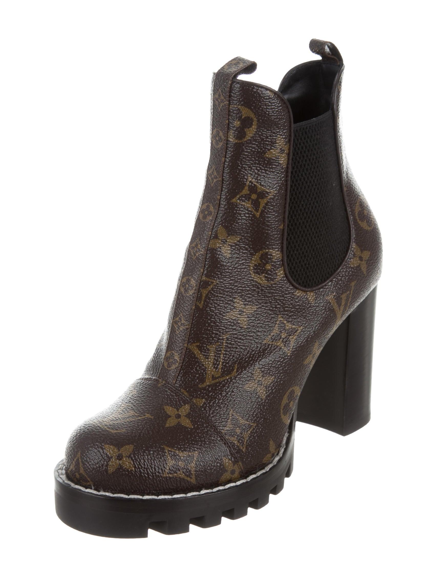 louis vuitton ankle boots. star trail ankle boots louis vuitton