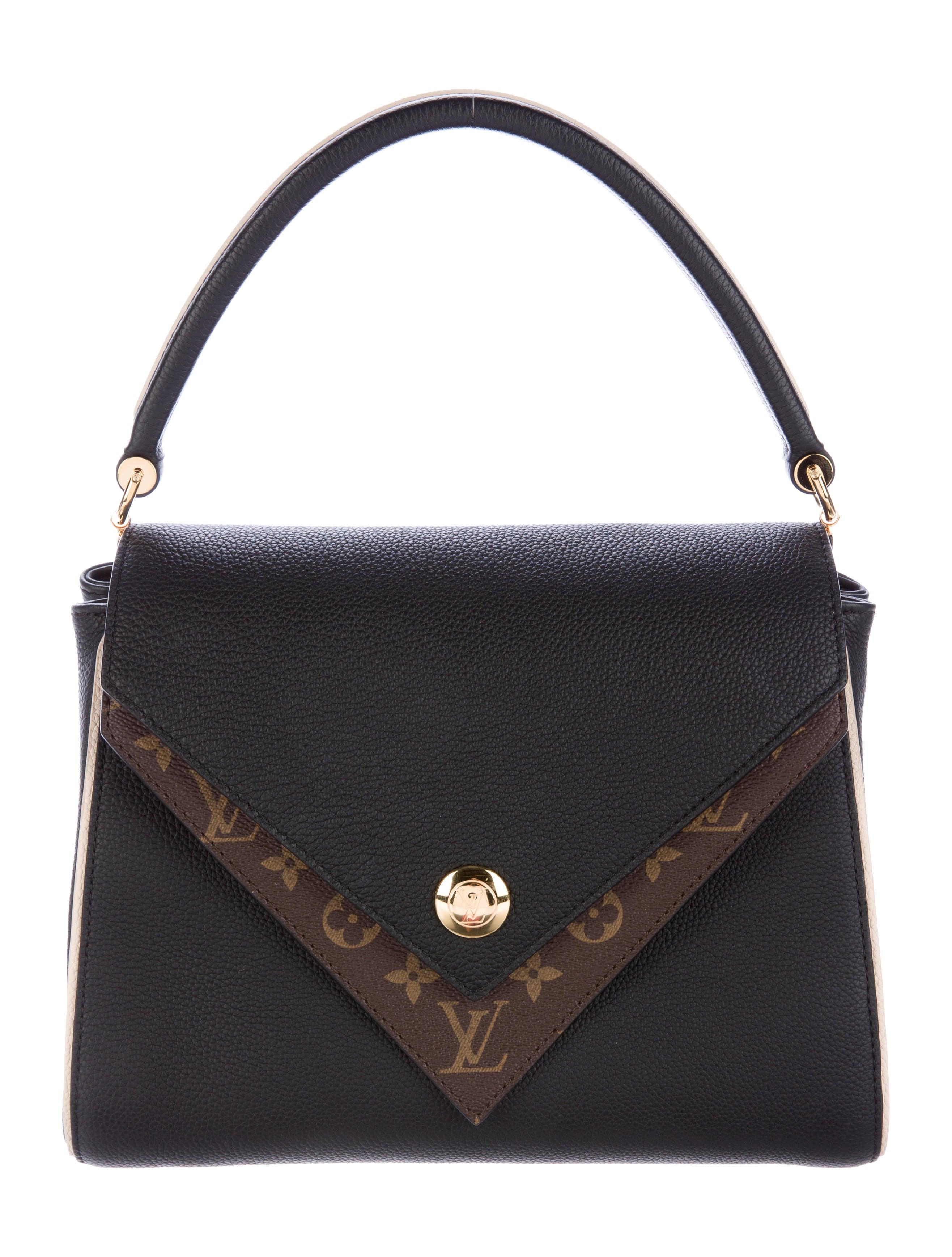 9d1e684d509 Louis Vuitton 2017 Double V Bag - Handbags - LOU115594   The RealReal