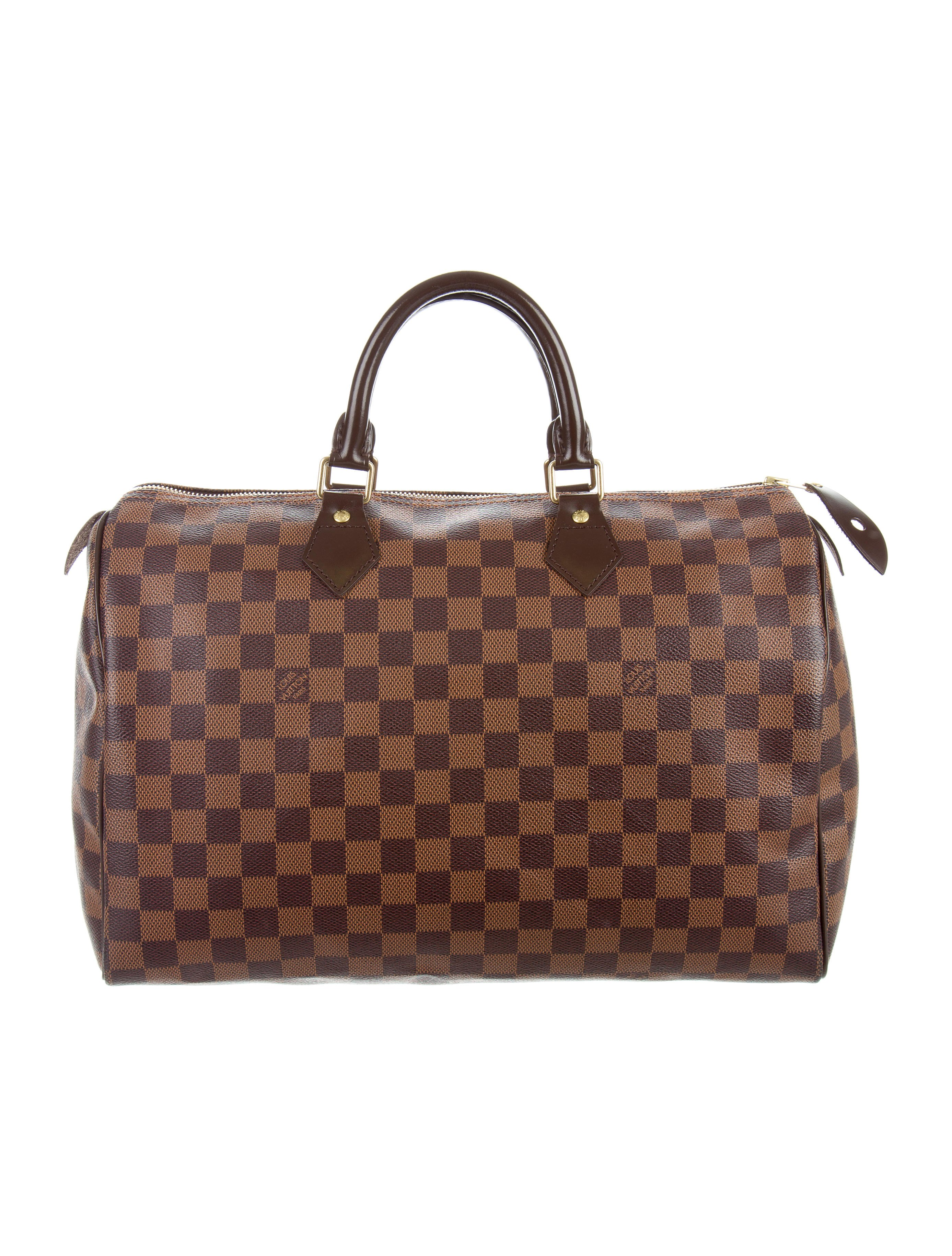 Louis vuitton damier speedy 35 handbags lou115694 for Louis vuitton miroir speedy 35