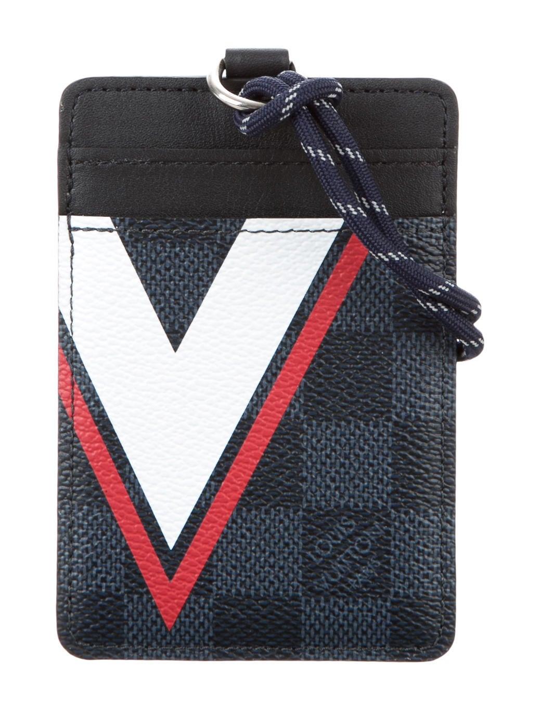 Louis vuitton damier regetta id card holder accessories damier regetta id card holder colourmoves
