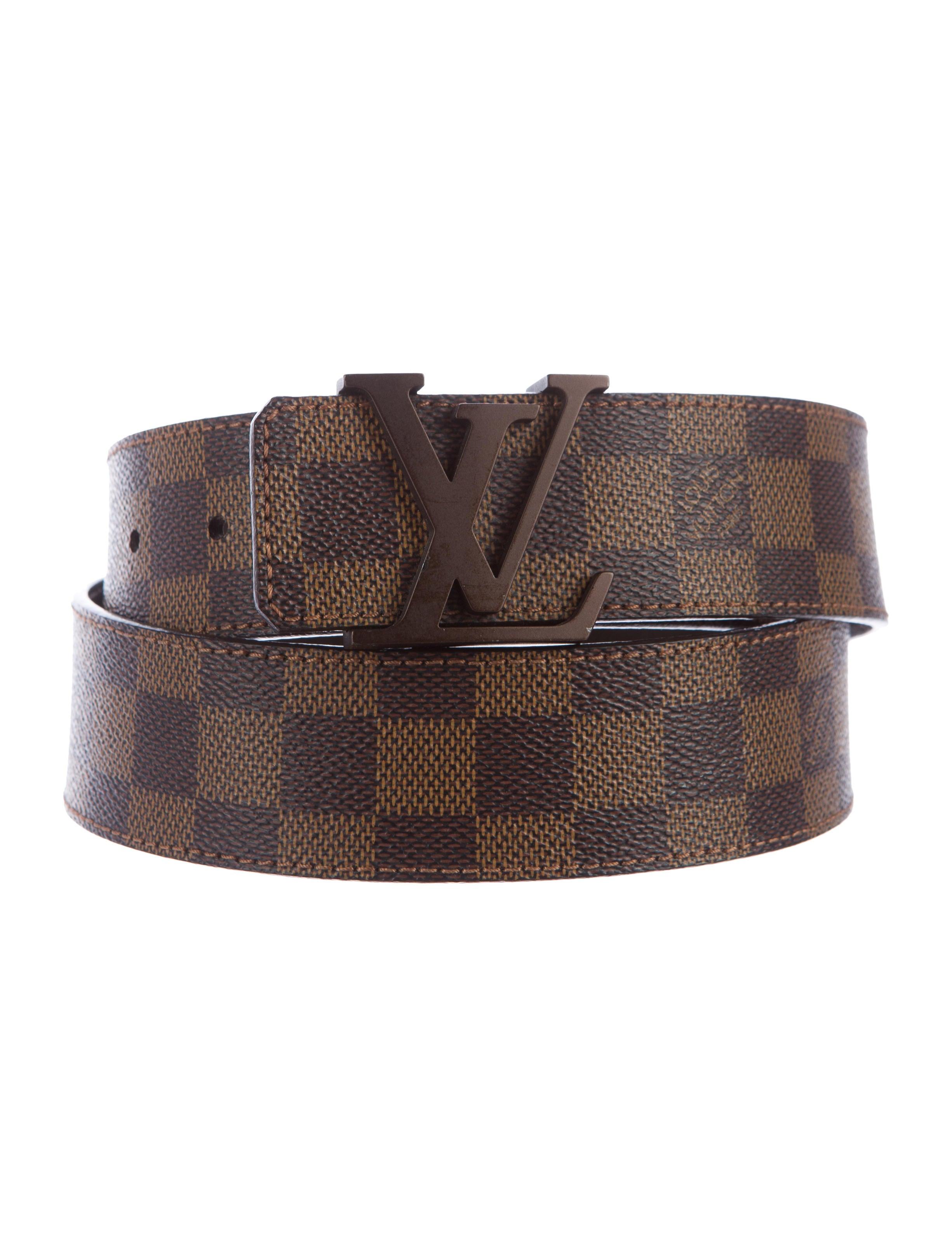 968770934f3 Louis Vuitton Initiales Damier M9609w Belt