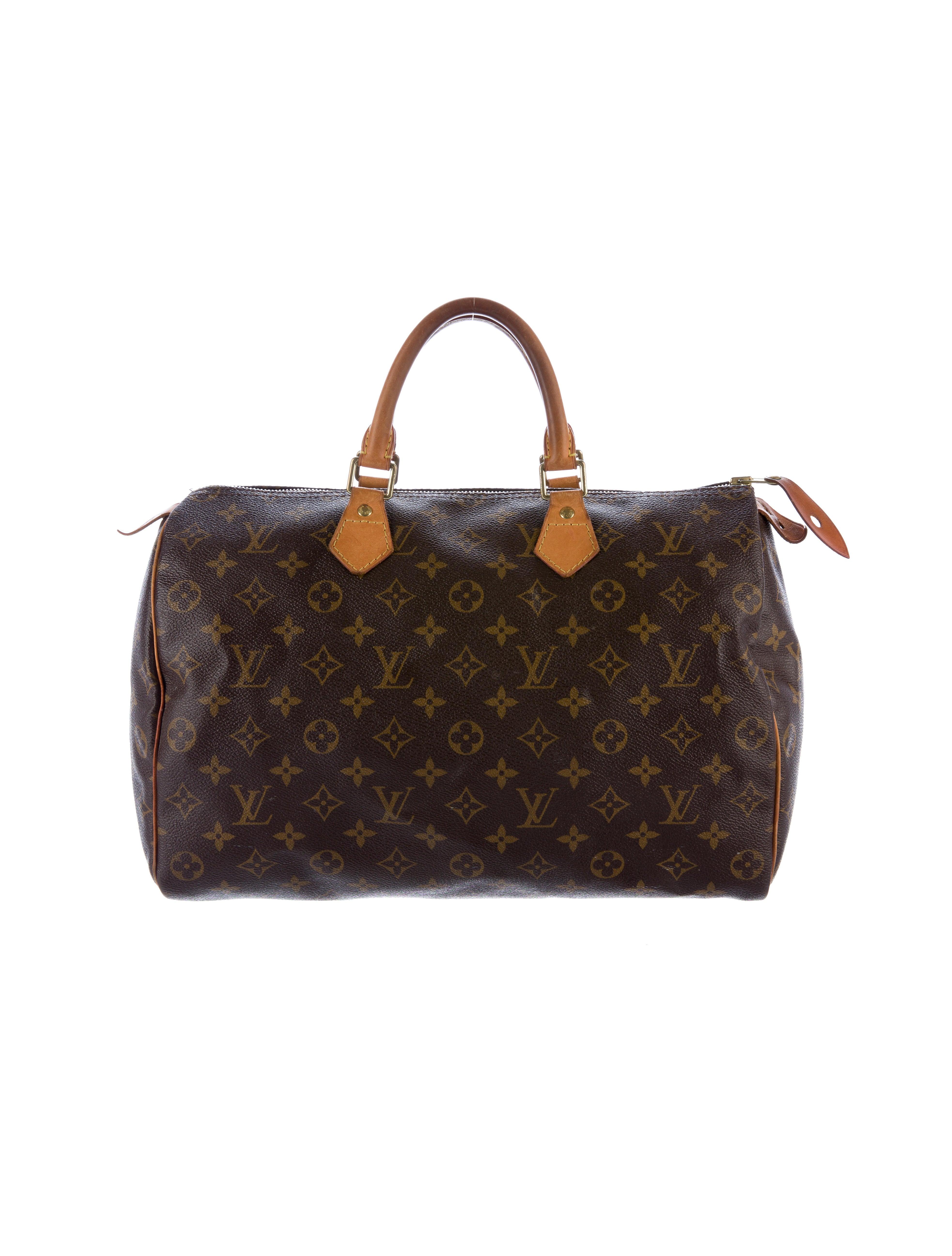 Louis vuitton monogram speedy 35 handbags lou116242 for Louis vuitton miroir speedy 35