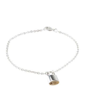 Louis Vuitton Lockit Charm Bracelet Bracelets