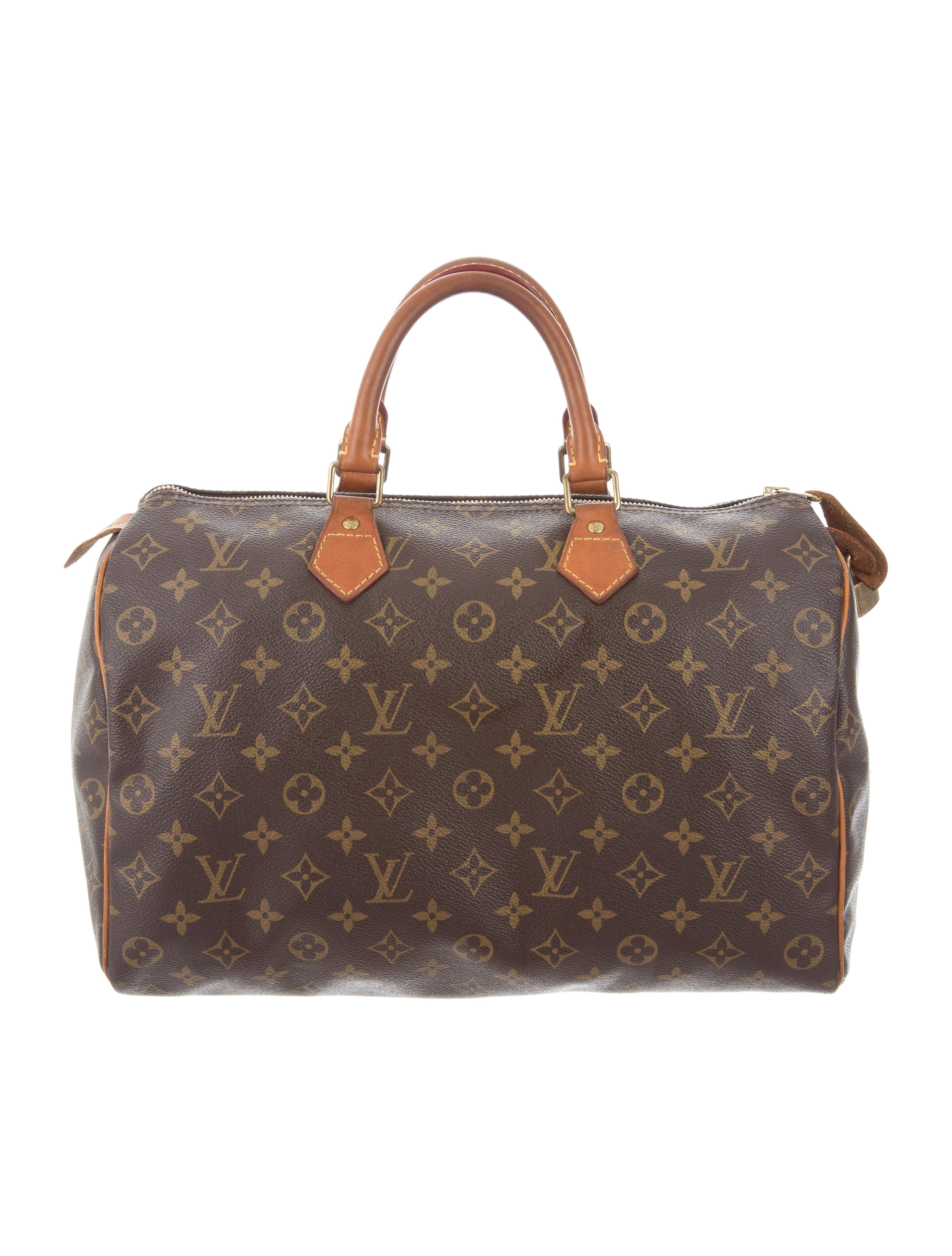 louis vuitton monogram speedy 35 handbags lou116619. Black Bedroom Furniture Sets. Home Design Ideas