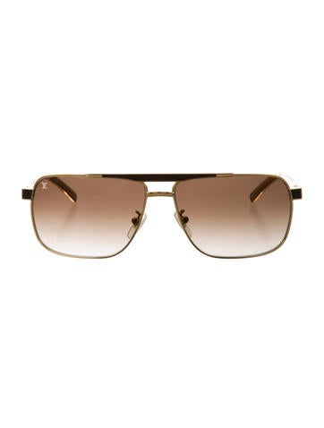 293e391120 Louis Vuitton Persuasion Carré Sunglasses - Accessories - LOU116920 ...