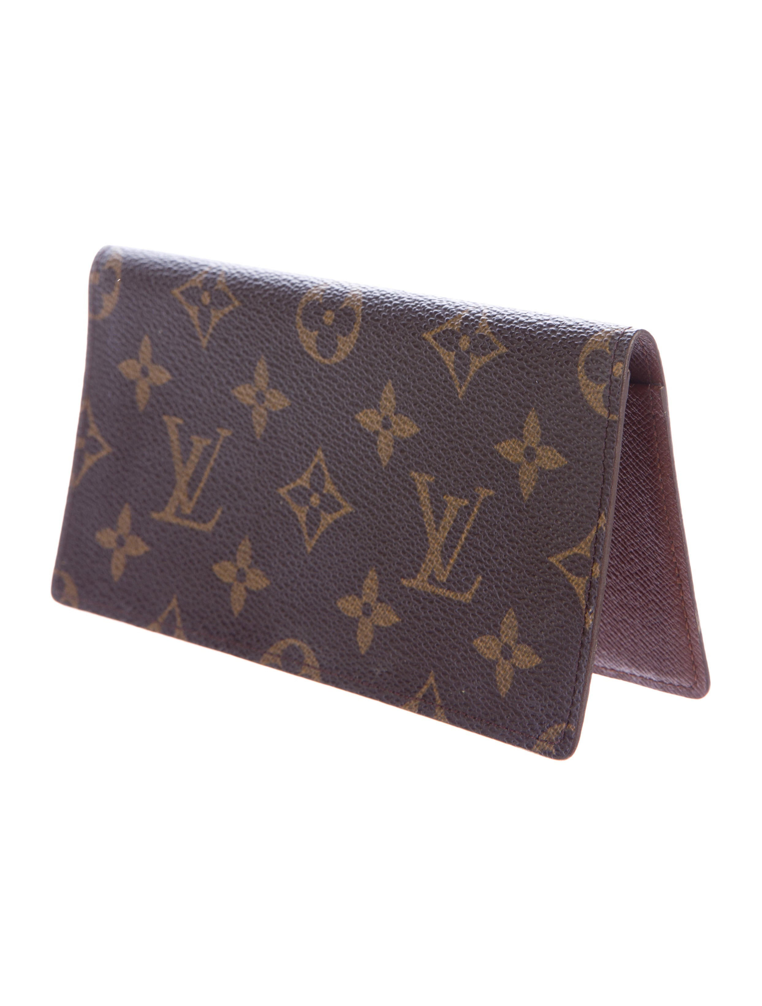 louis vuitton monogram porte chequier simple accessories lou117064 the realreal
