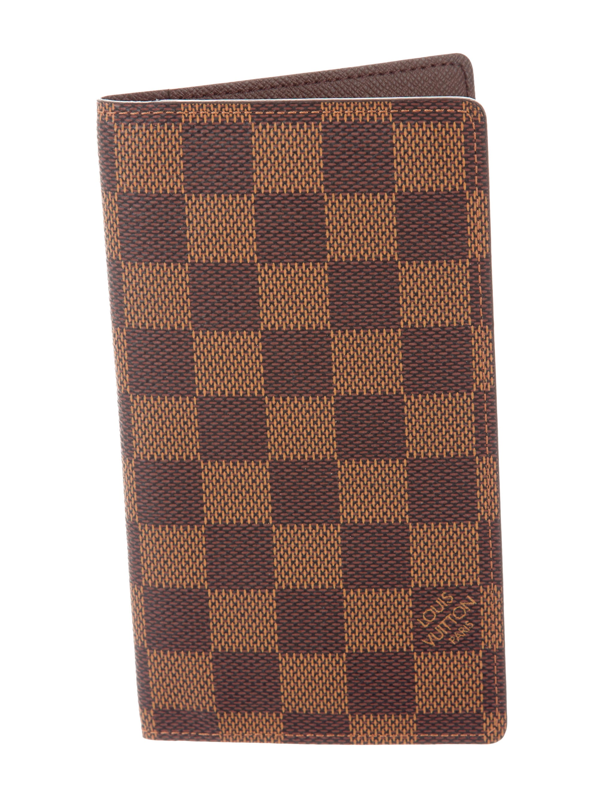 louis vuitton damier vertical wallet accessories lou117110 the realreal. Black Bedroom Furniture Sets. Home Design Ideas