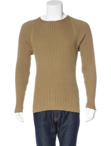 Louis Vuitton Rib Knit Sweater None