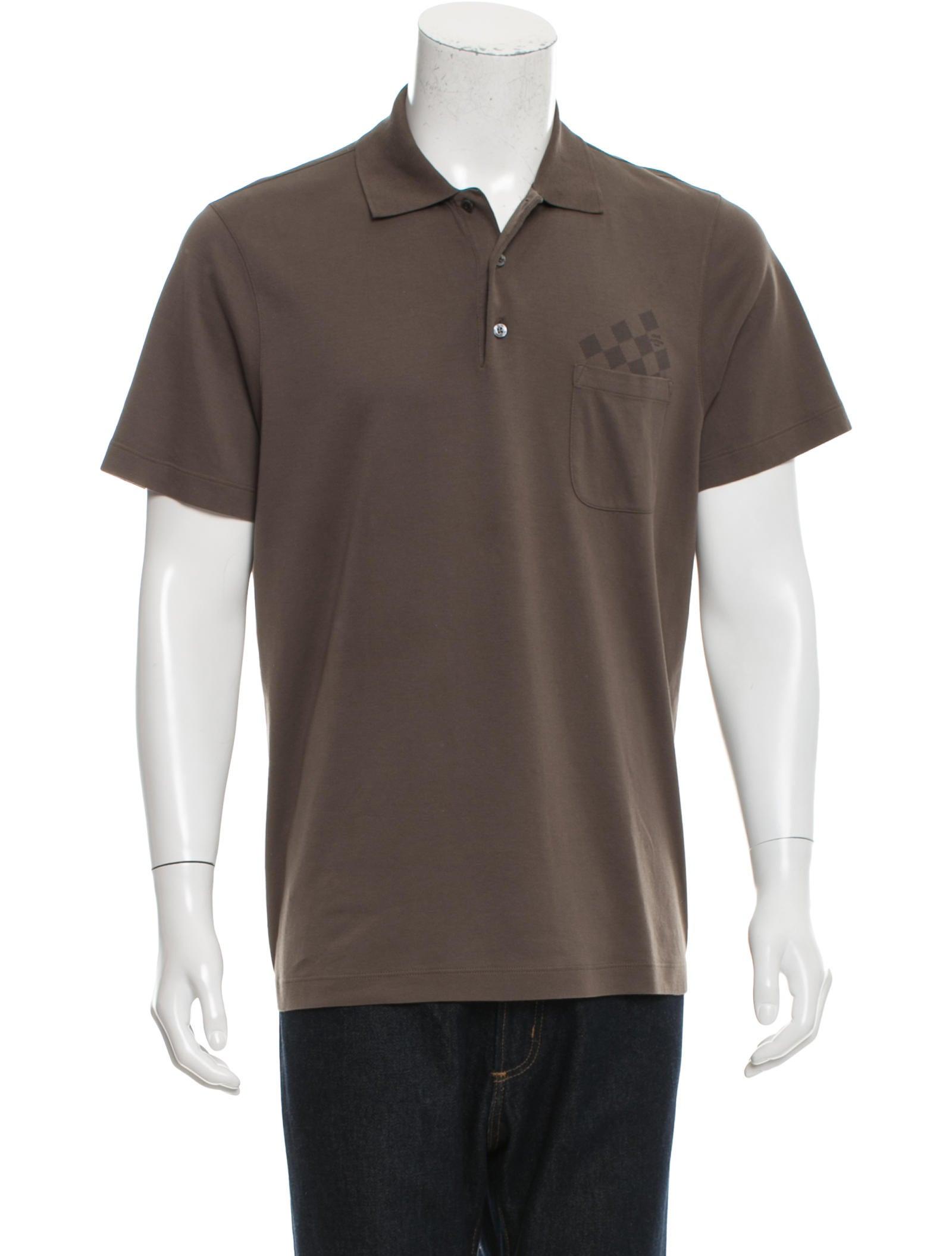 Louis Vuitton Polo Shirt Damier T Shirt