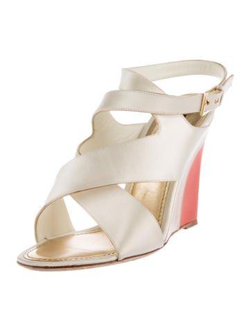 louis vuitton satin wedge sandals shoes lou117699