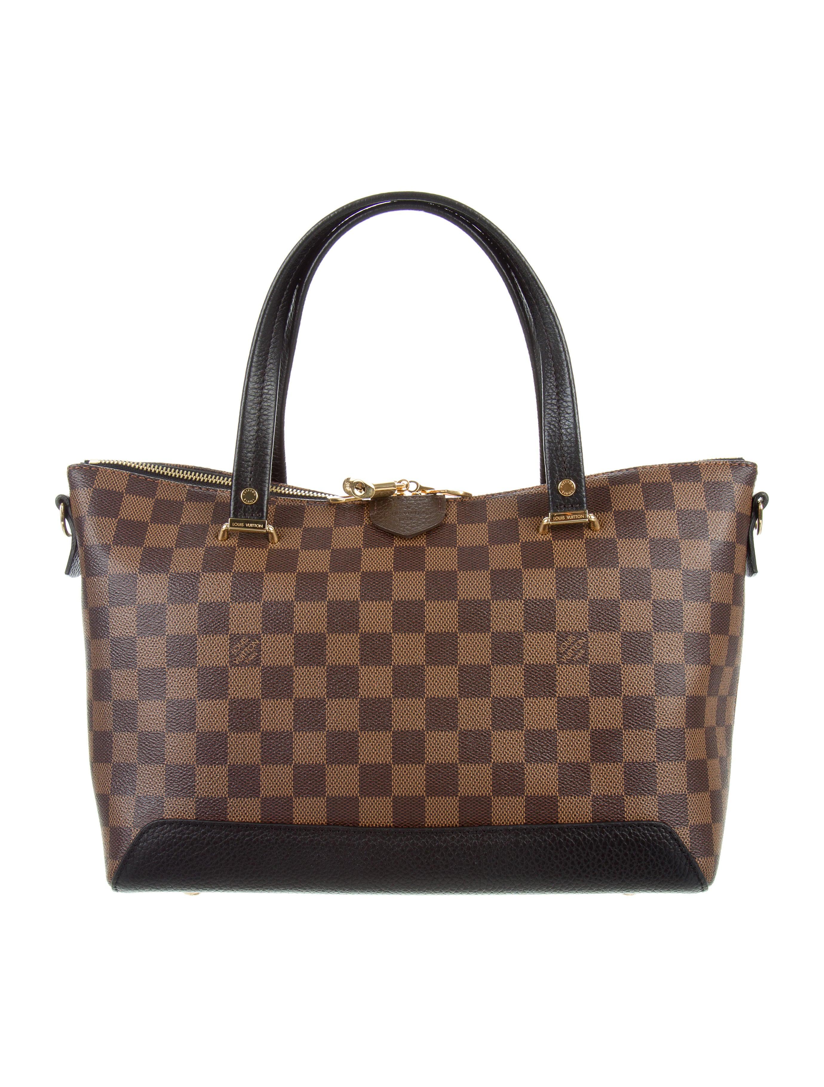 e411a1216c3 Louis Vuitton 2016 Damier Ebene Hyde Park Bag - Handbags - LOU117931 ...