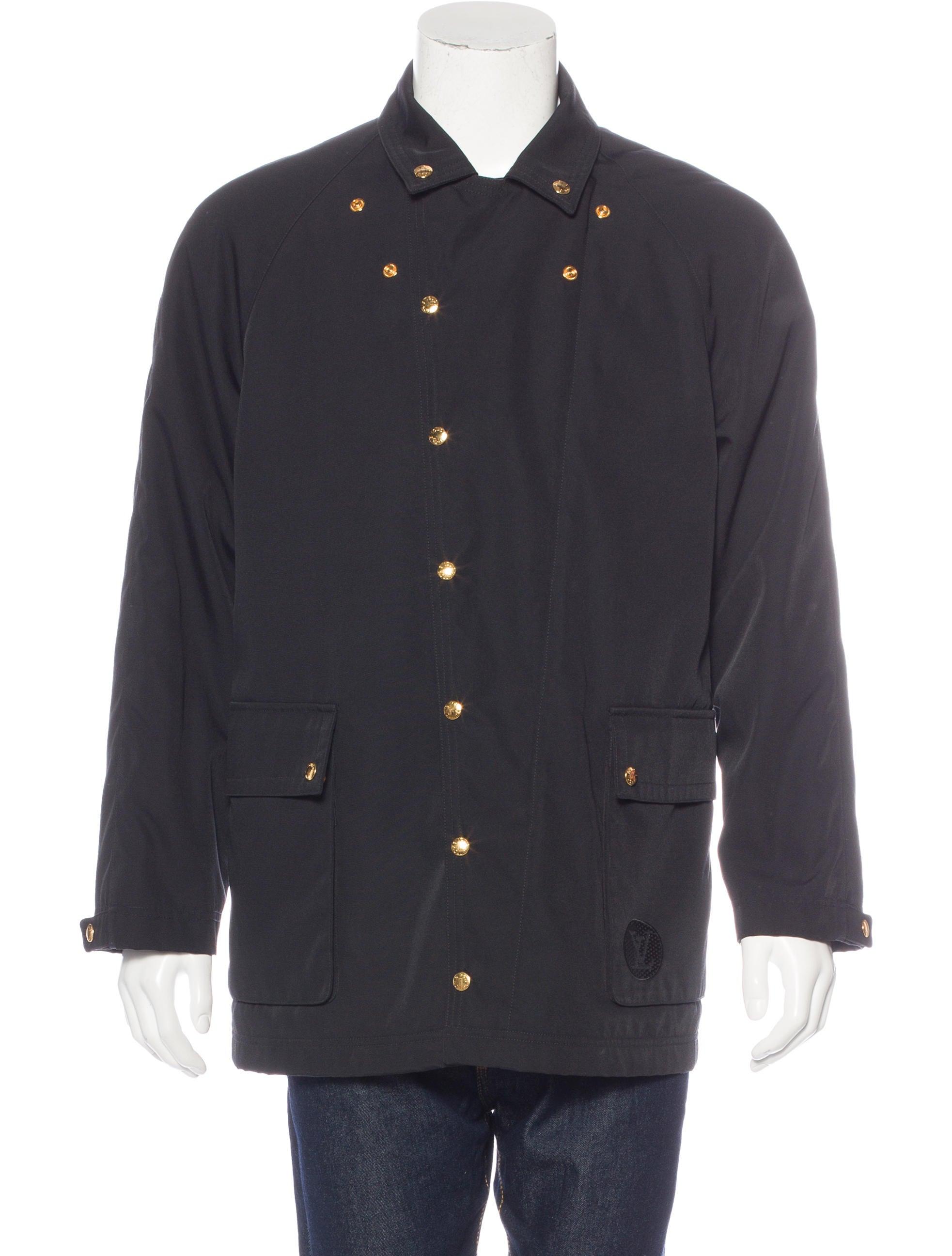 louis vuitton damier lined woven jacket clothing. Black Bedroom Furniture Sets. Home Design Ideas