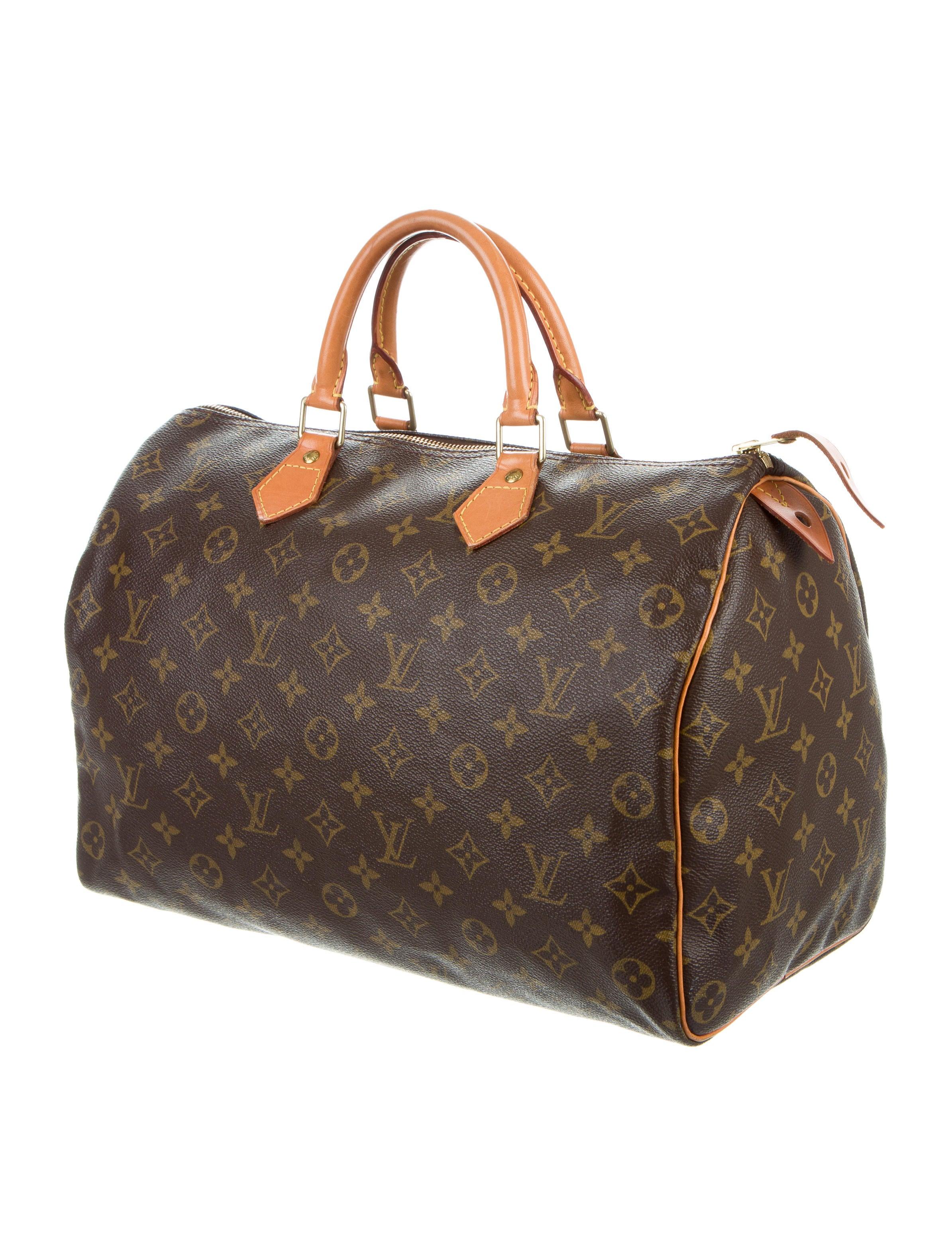louis vuitton monogram speedy 35 handbags lou118038. Black Bedroom Furniture Sets. Home Design Ideas