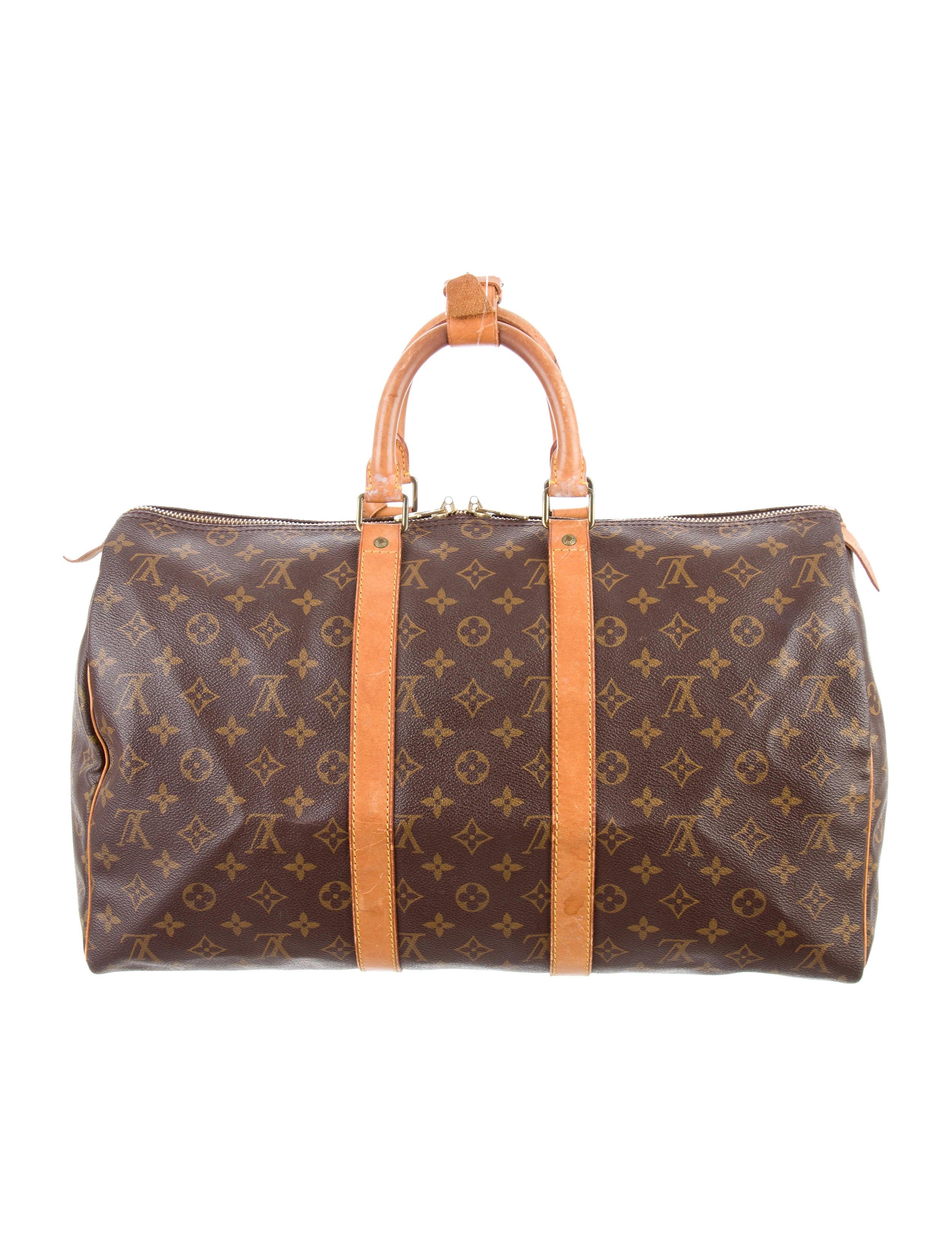 Louis Vuitton Monogram Keepall 45 - Handbags - LOU118322