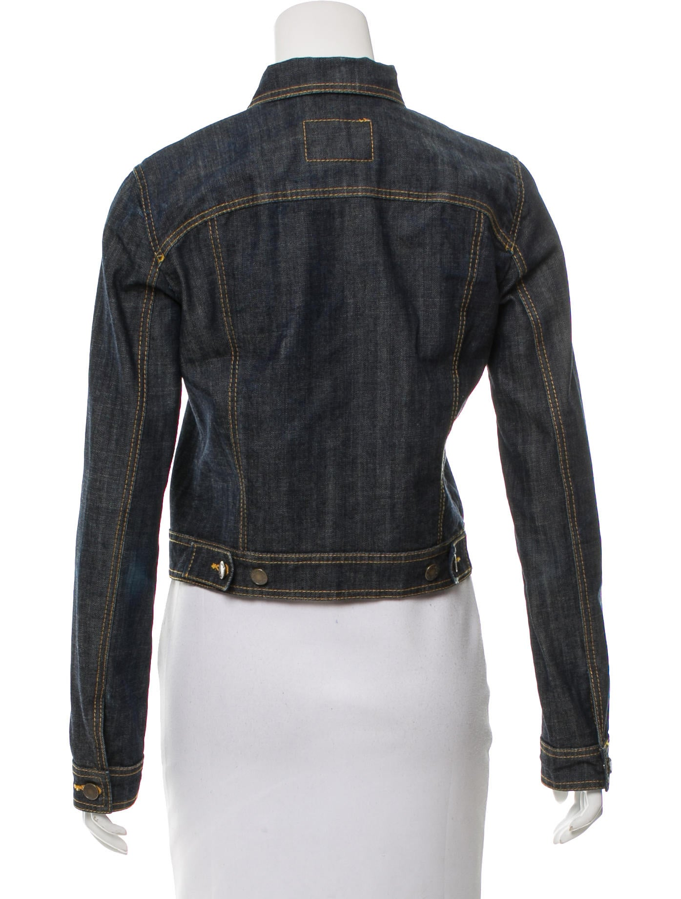 Louis Vuitton Casual Denim Jacket Clothing Lou118452