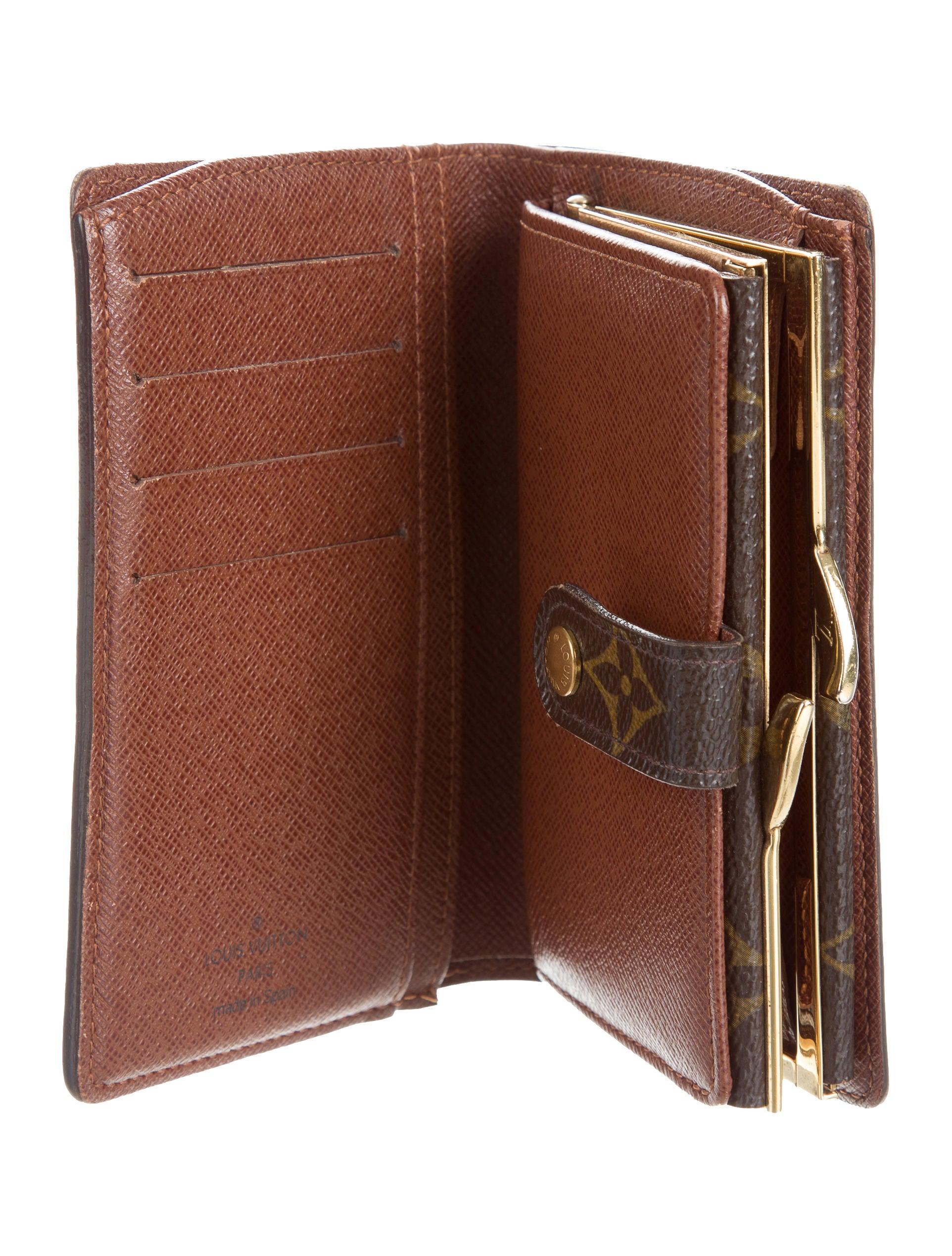 Louis Vuitton Monogram French Purse Wallet Accessories