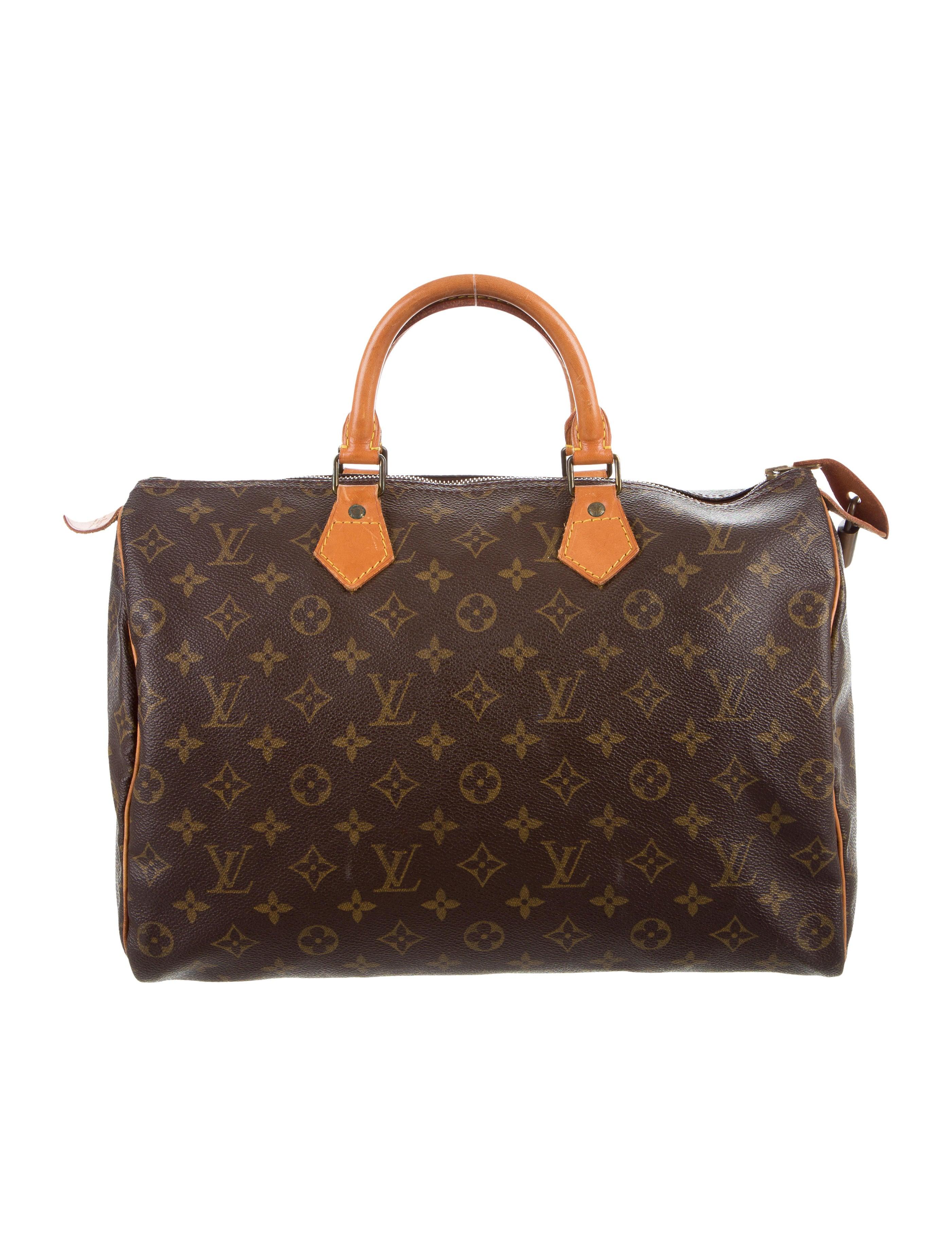 louis vuitton monogram speedy 35 handbags lou118757. Black Bedroom Furniture Sets. Home Design Ideas