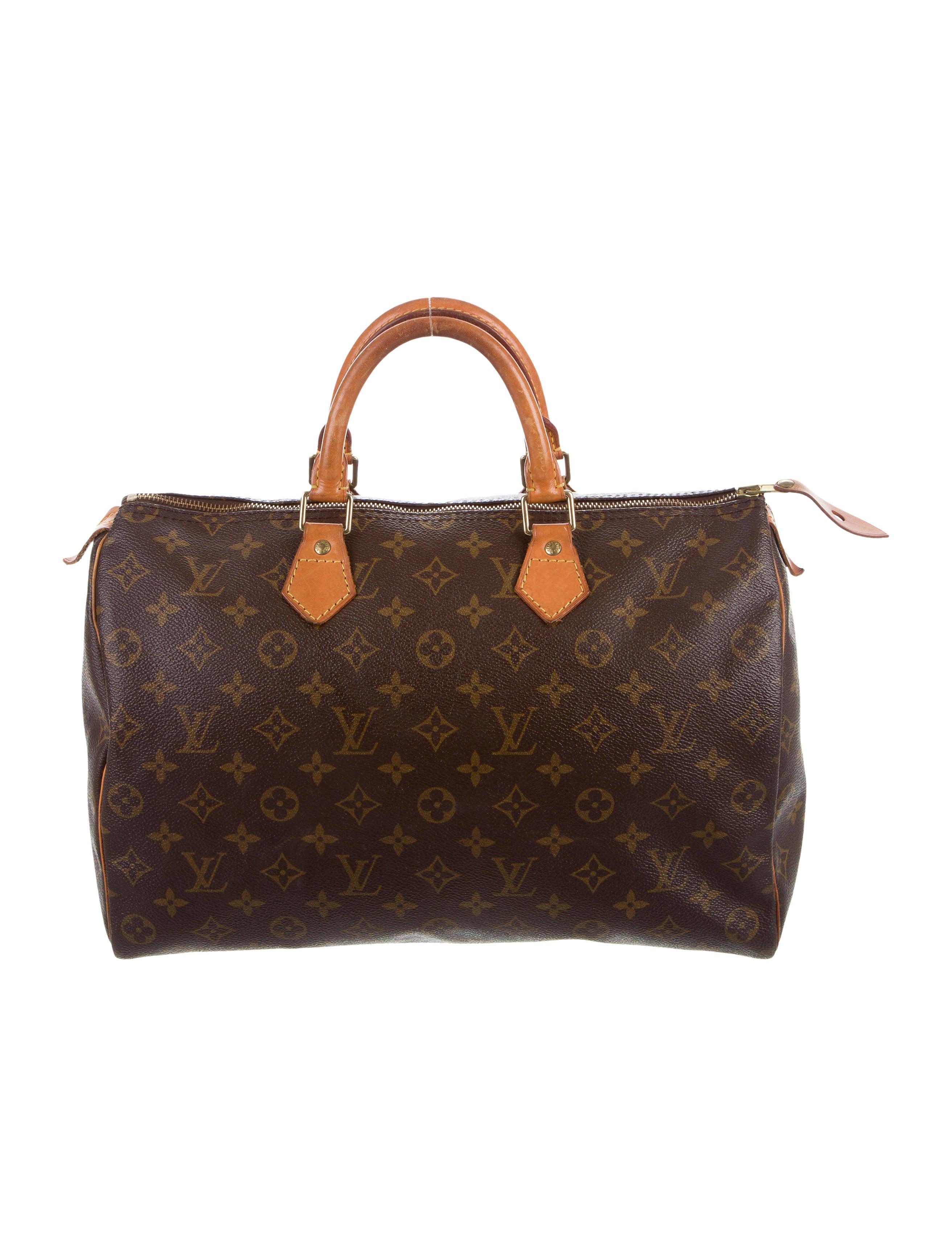 Louis vuitton monogram speedy 35 handbags lou118797 for Louis vuitton miroir speedy