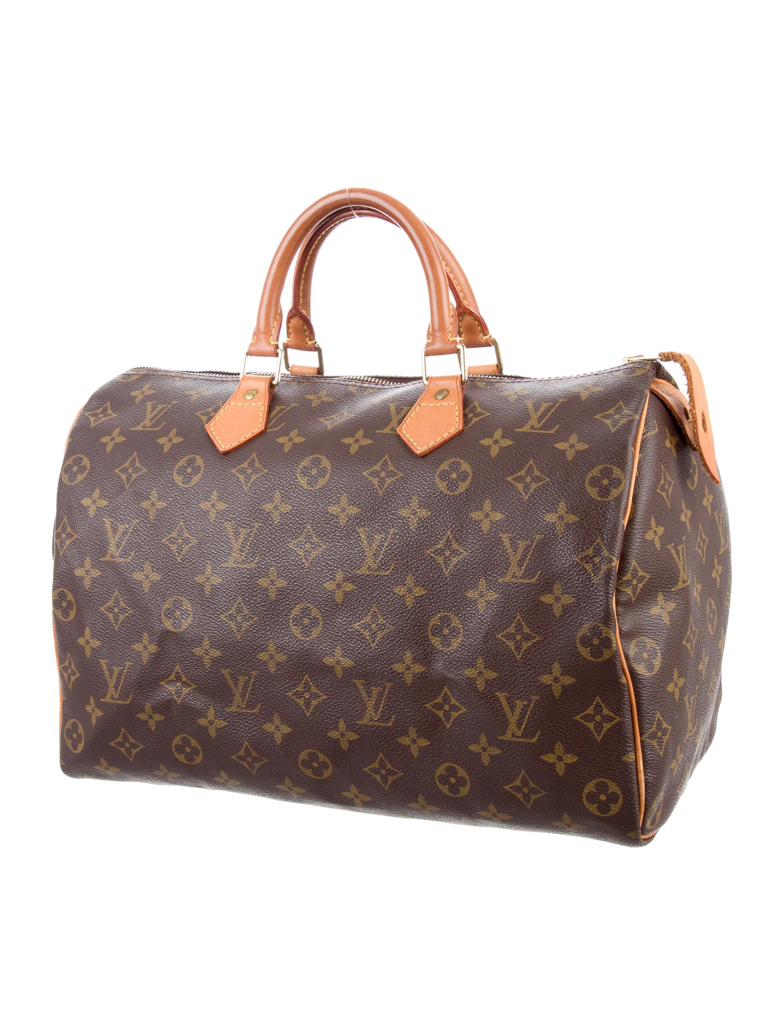 Louis vuitton monogram speedy 35 handbags lou119014 for Louis vuitton miroir speedy 35