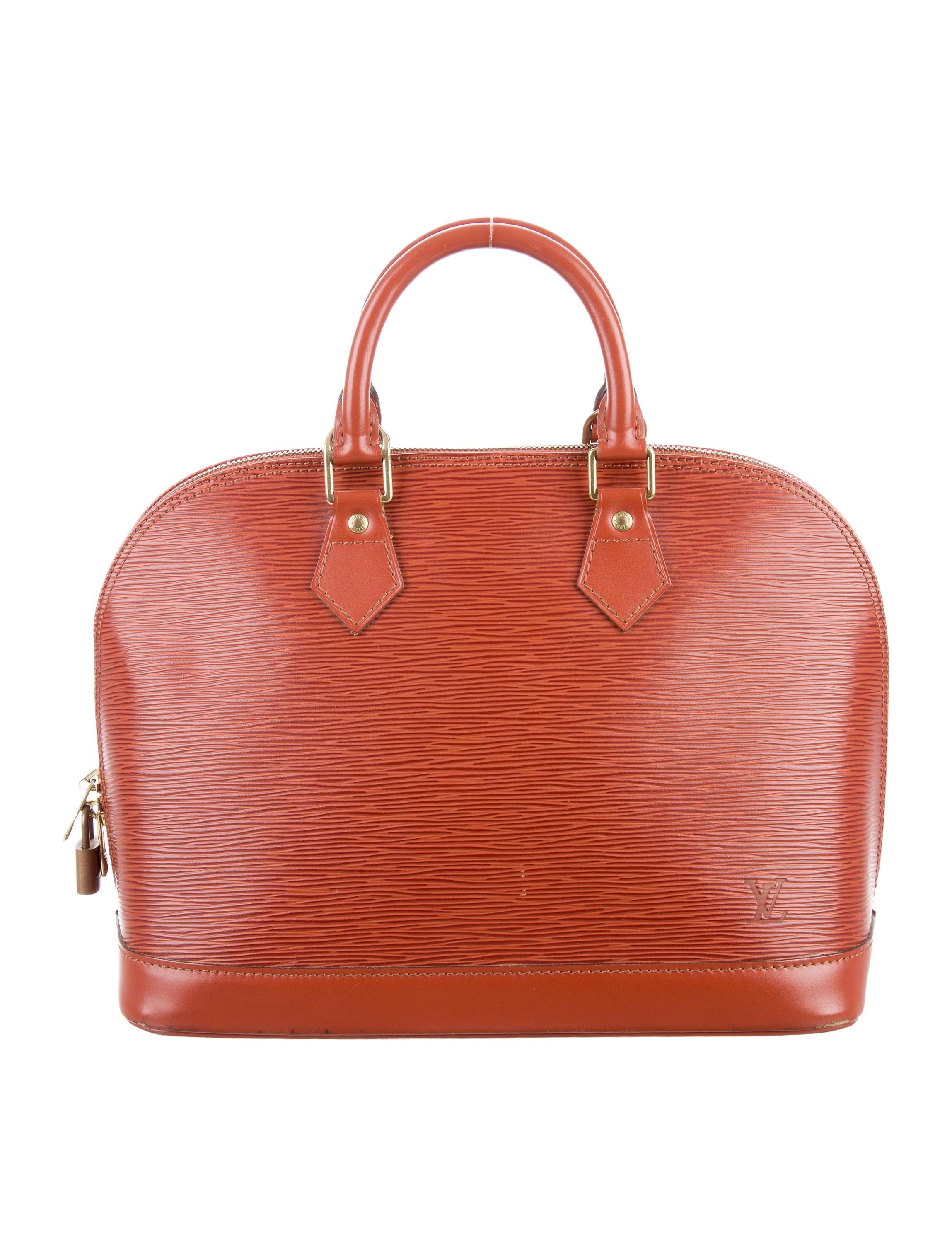 Louis vuitton epi alma pm handbags lou119072 the for Louis vuitton miroir alma bag price
