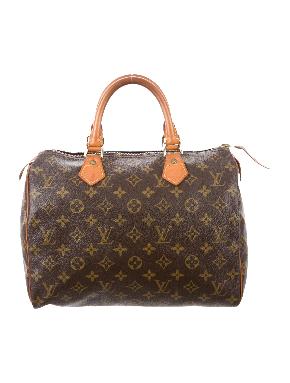 louis vuitton monogram speedy 30 handbags lou119312. Black Bedroom Furniture Sets. Home Design Ideas