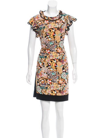 Louis Vuitton 2016 Ornate Dress None