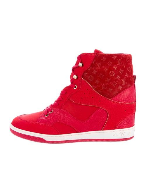5de1bcda1c0 Louis Vuitton Cliff Top Wedge Sneakers - Shoes - LOU119386   The ...