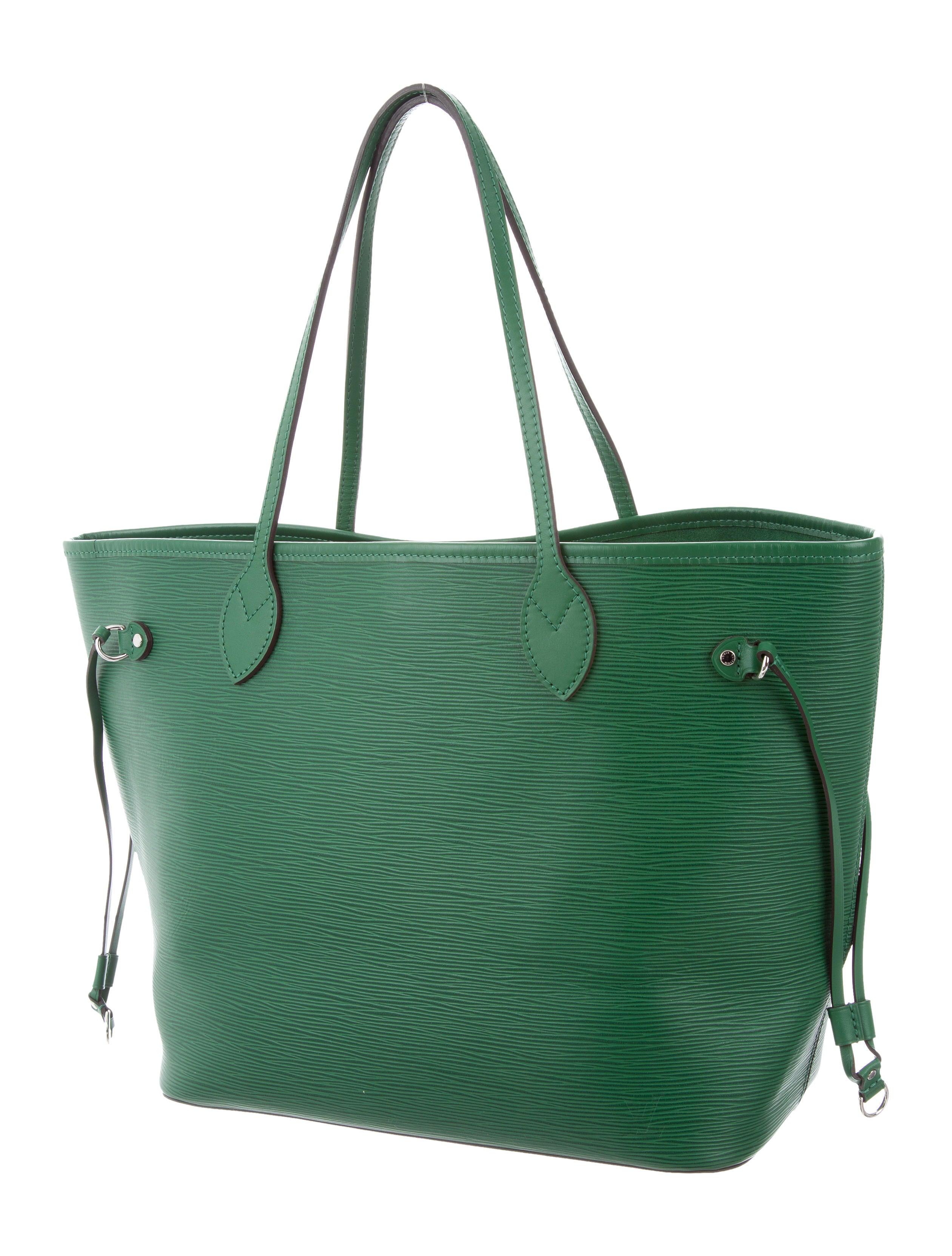3e4ff0d1214a Louis Vuitton M41324 Neverfull Mm Shoulder Bag Epi Leather ...