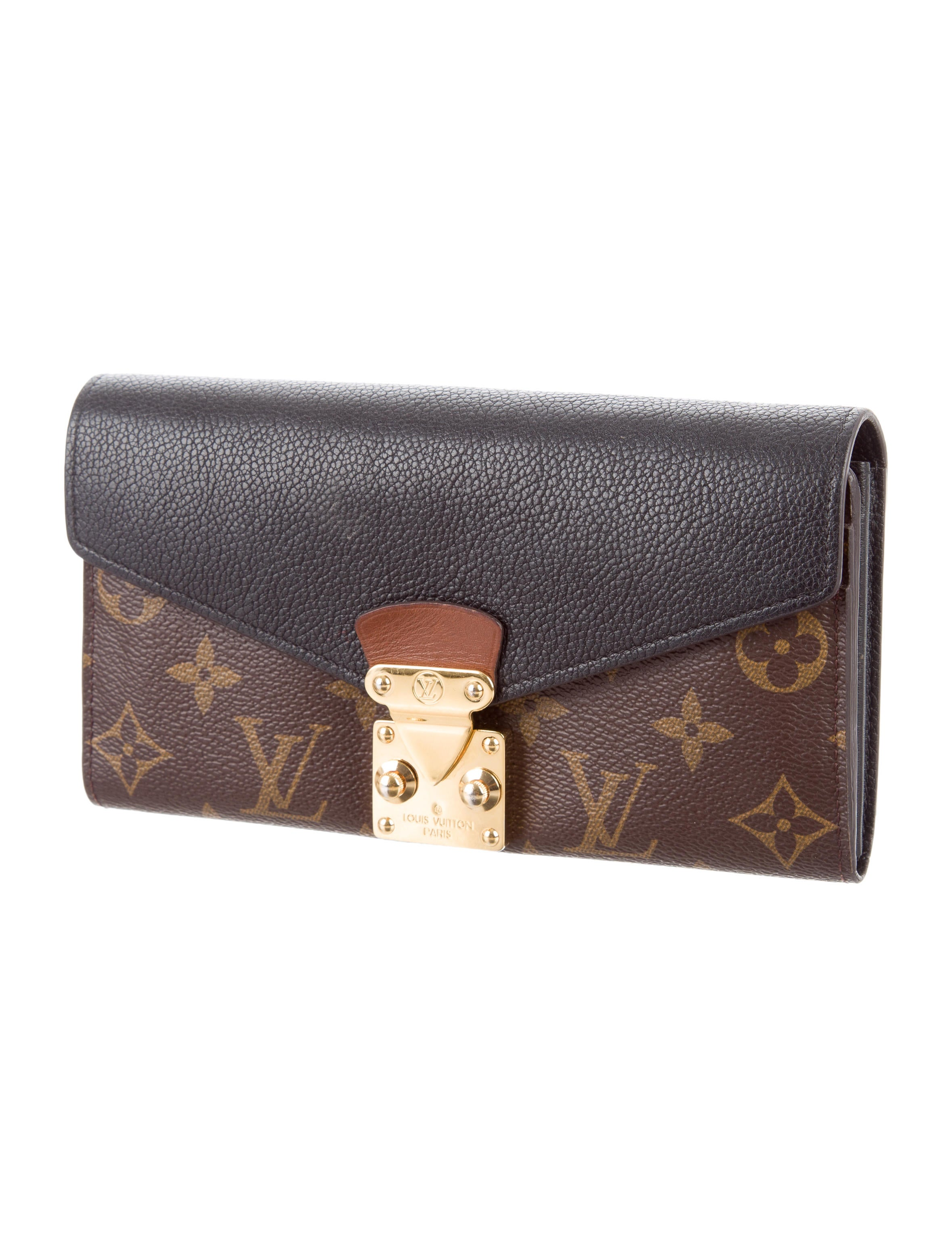 Louis Vuitton 2015 Monogram Pallas Wallet