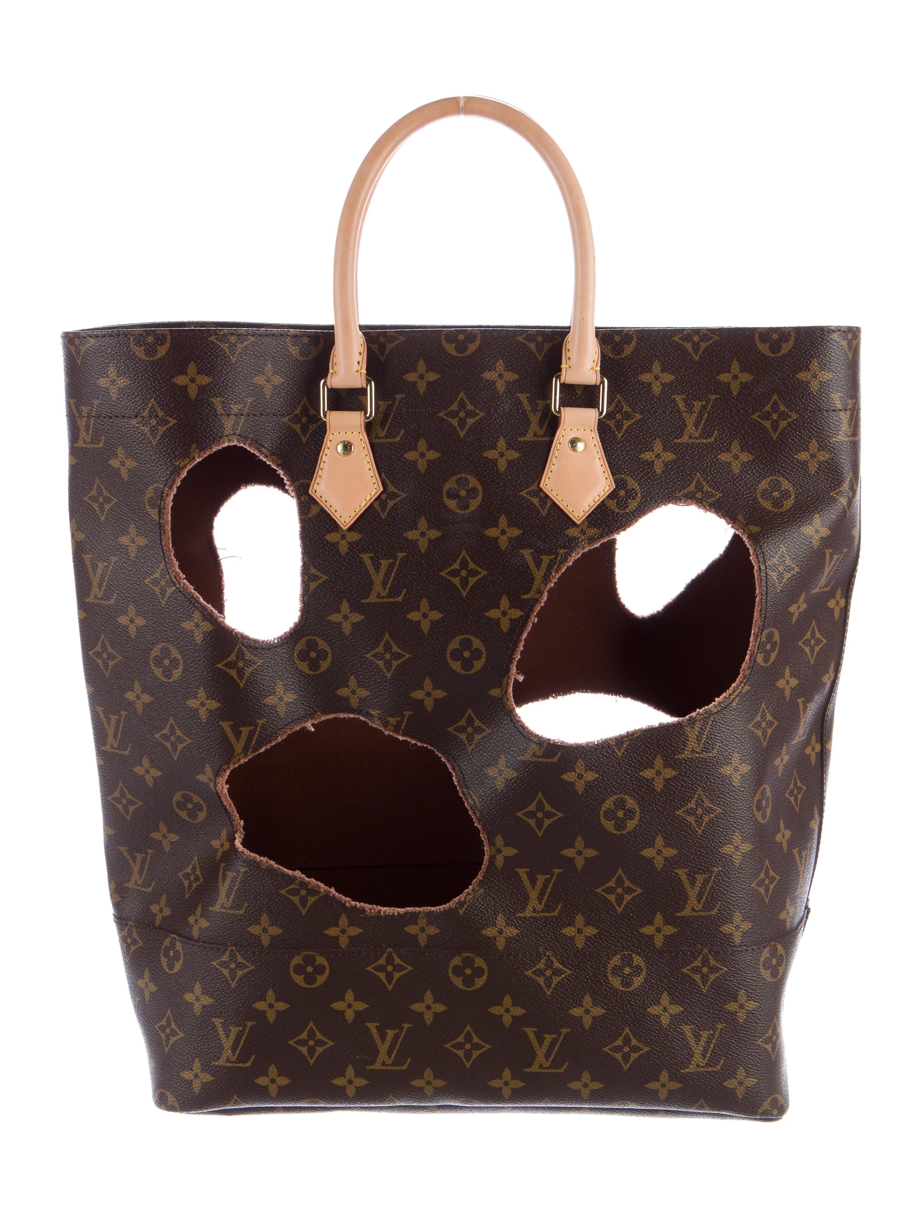 Louis Vuitton Rei Kawakubo Monogram Bag With Holes