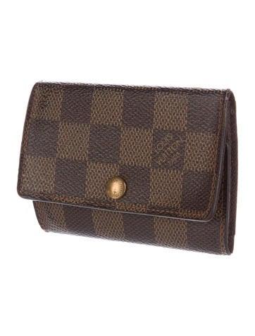5f2ea1d6bf6 Louis Vuitton N61745 6 Key Holder Damier Azur Canvas