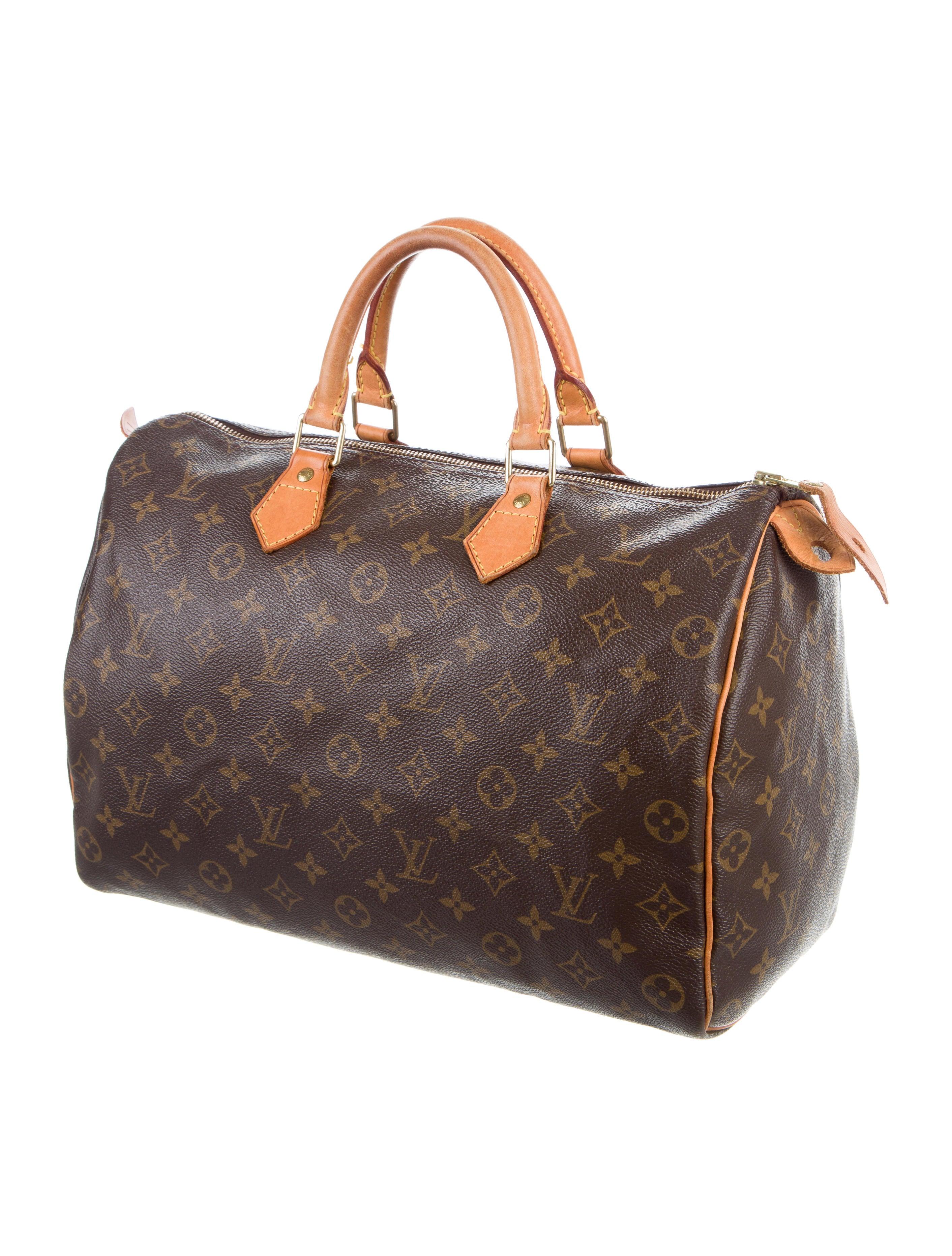 Louis vuitton monogram speedy 35 handbags lou120007 for Louis vuitton miroir speedy 35