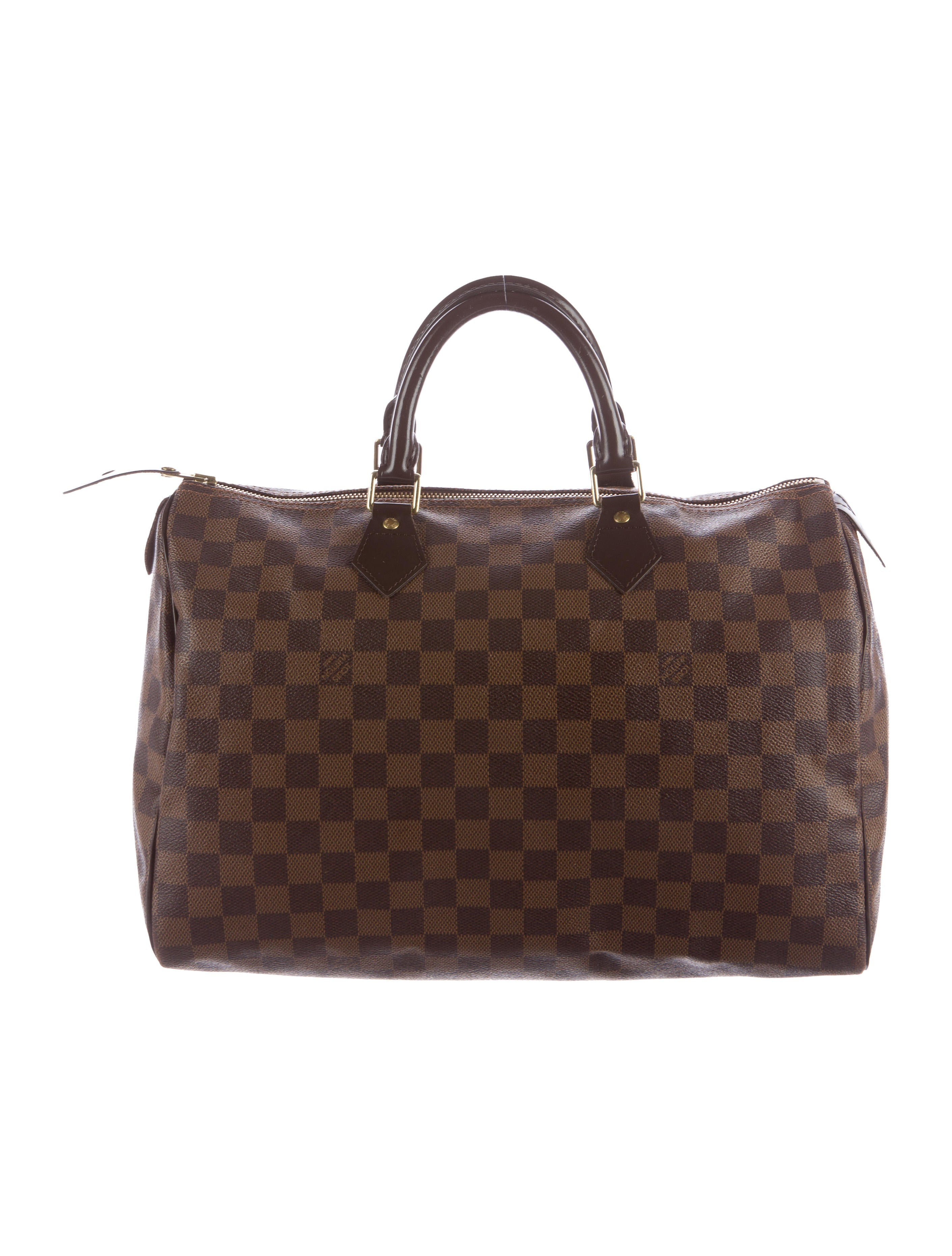 Louis vuitton damier ebene speedy 35 handbags for Louis vuitton miroir speedy 35