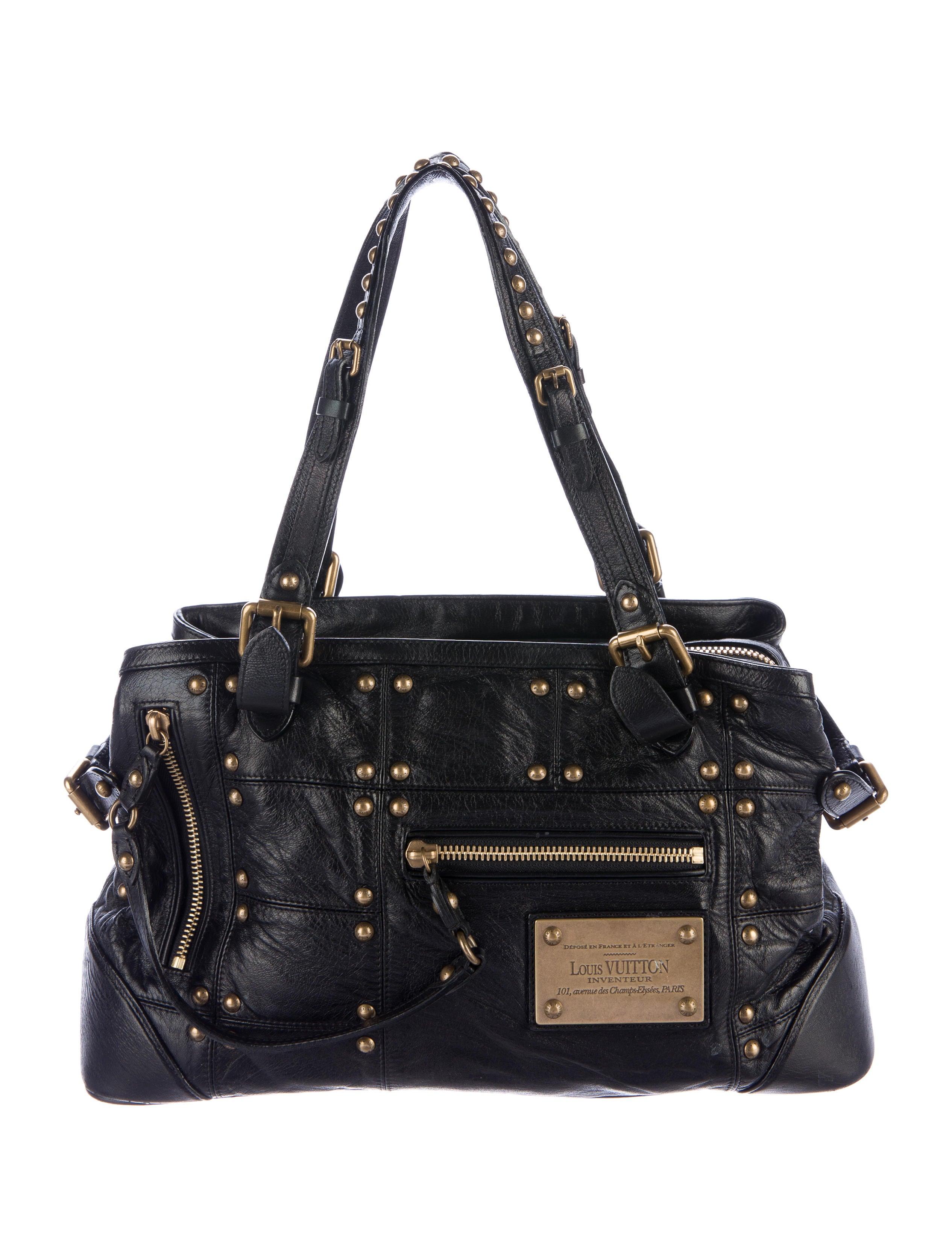 Sac Louis Vuitton Matelassé : Louis vuitton sac riveting bag handbags lou