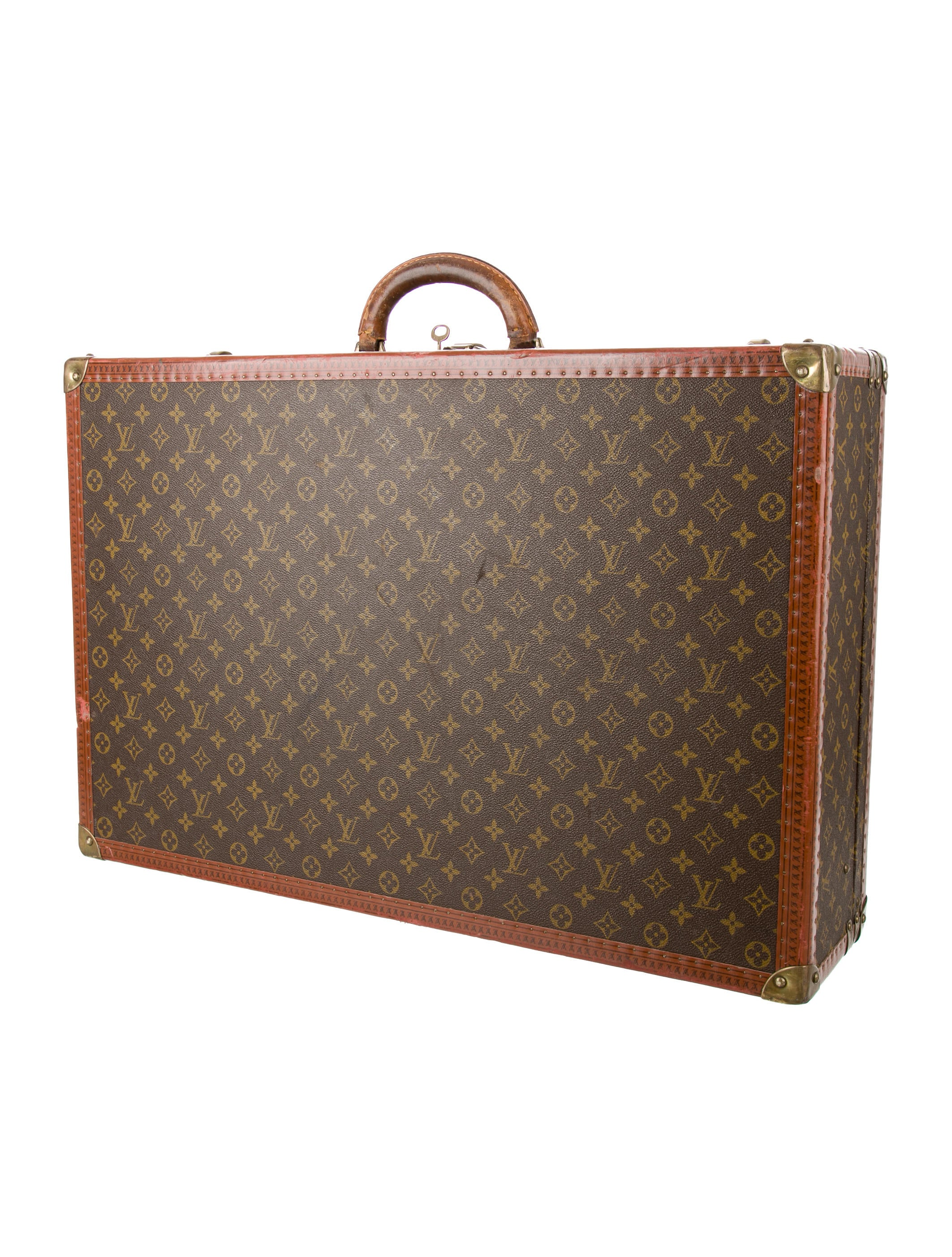 louis vuitton monogram alzer 7 luggage lou120177 the realreal. Black Bedroom Furniture Sets. Home Design Ideas