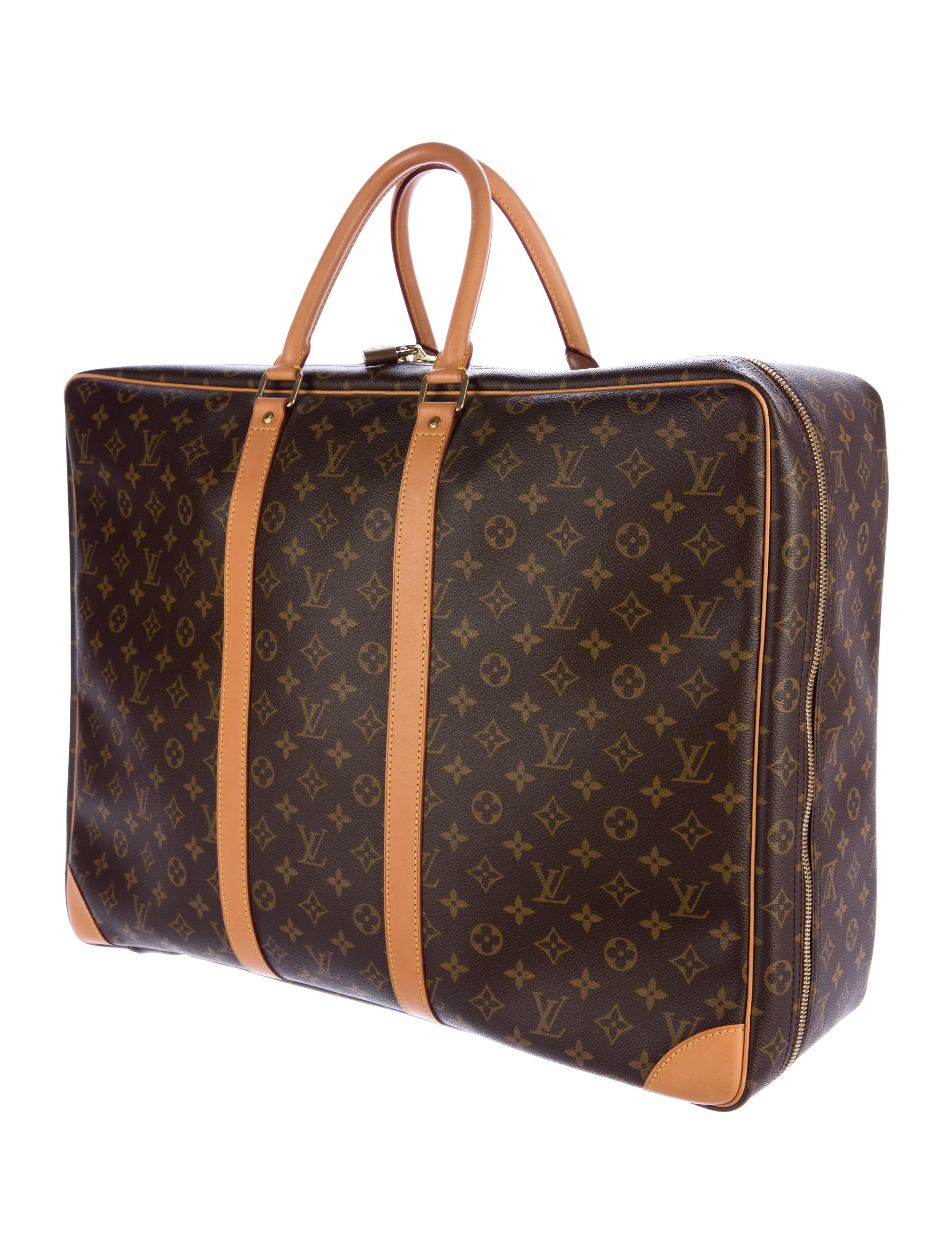 Louis Vuitton Monogram Sirius 55 Luggage Lou120229