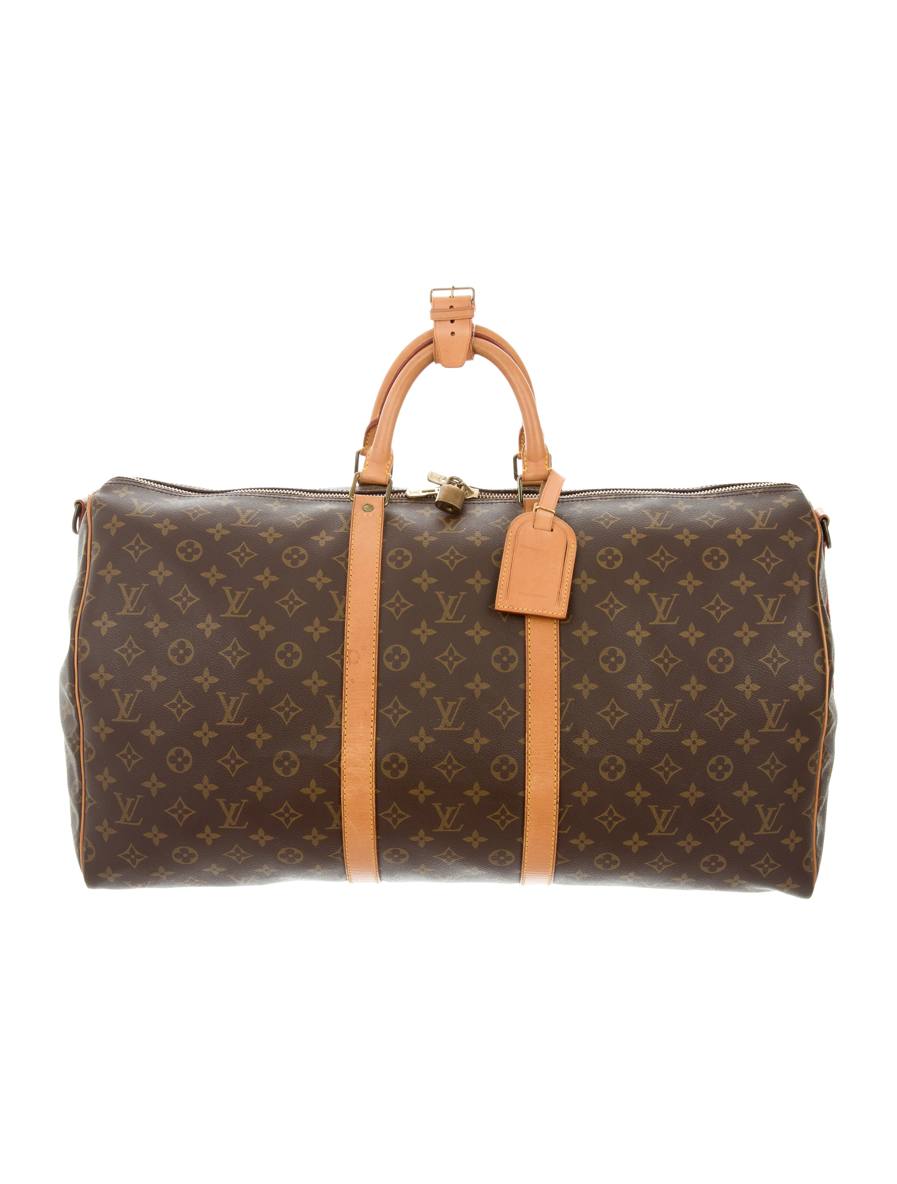 louis vuitton monogram keepall 55 bags lou120676 the. Black Bedroom Furniture Sets. Home Design Ideas