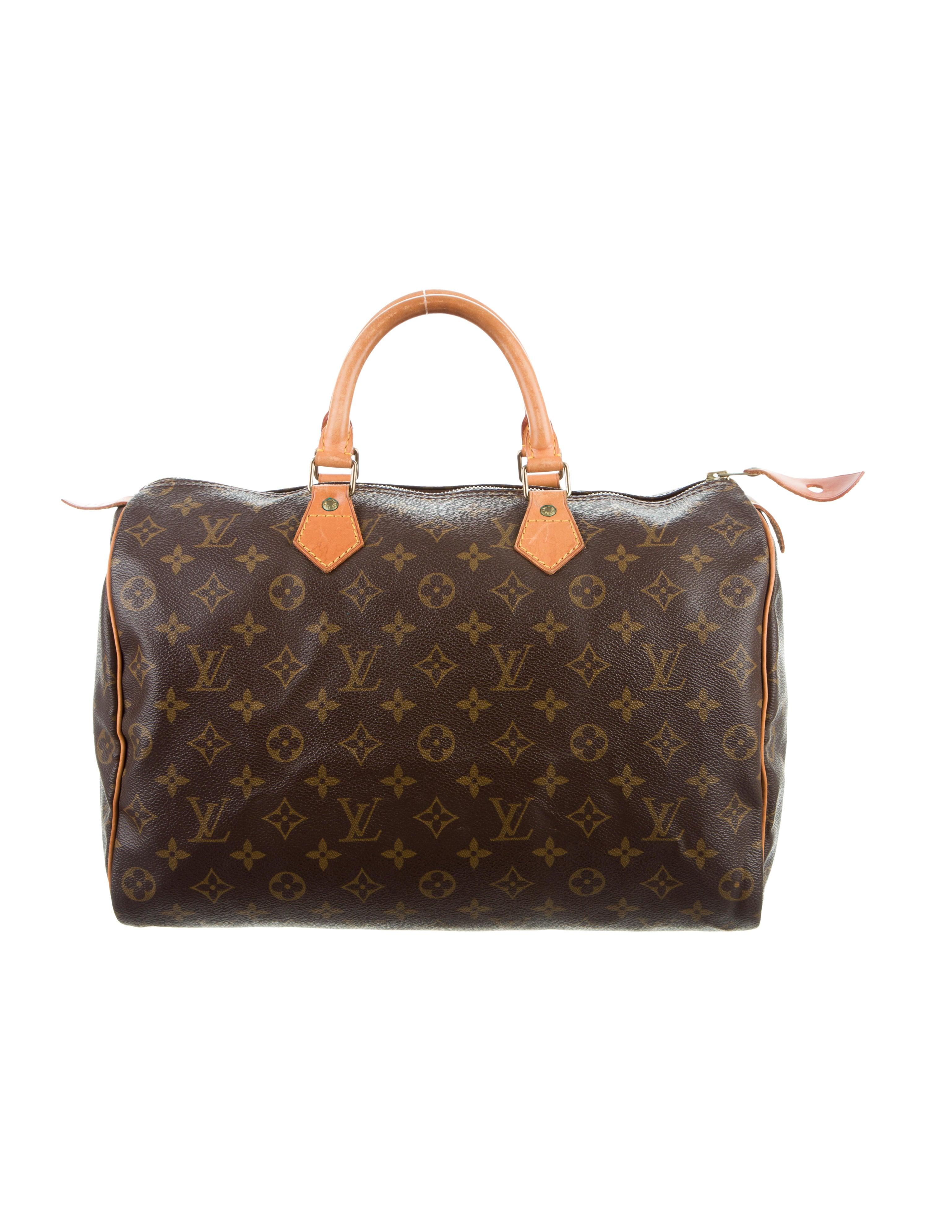 louis vuitton monogram speedy 35 handbags lou120866. Black Bedroom Furniture Sets. Home Design Ideas
