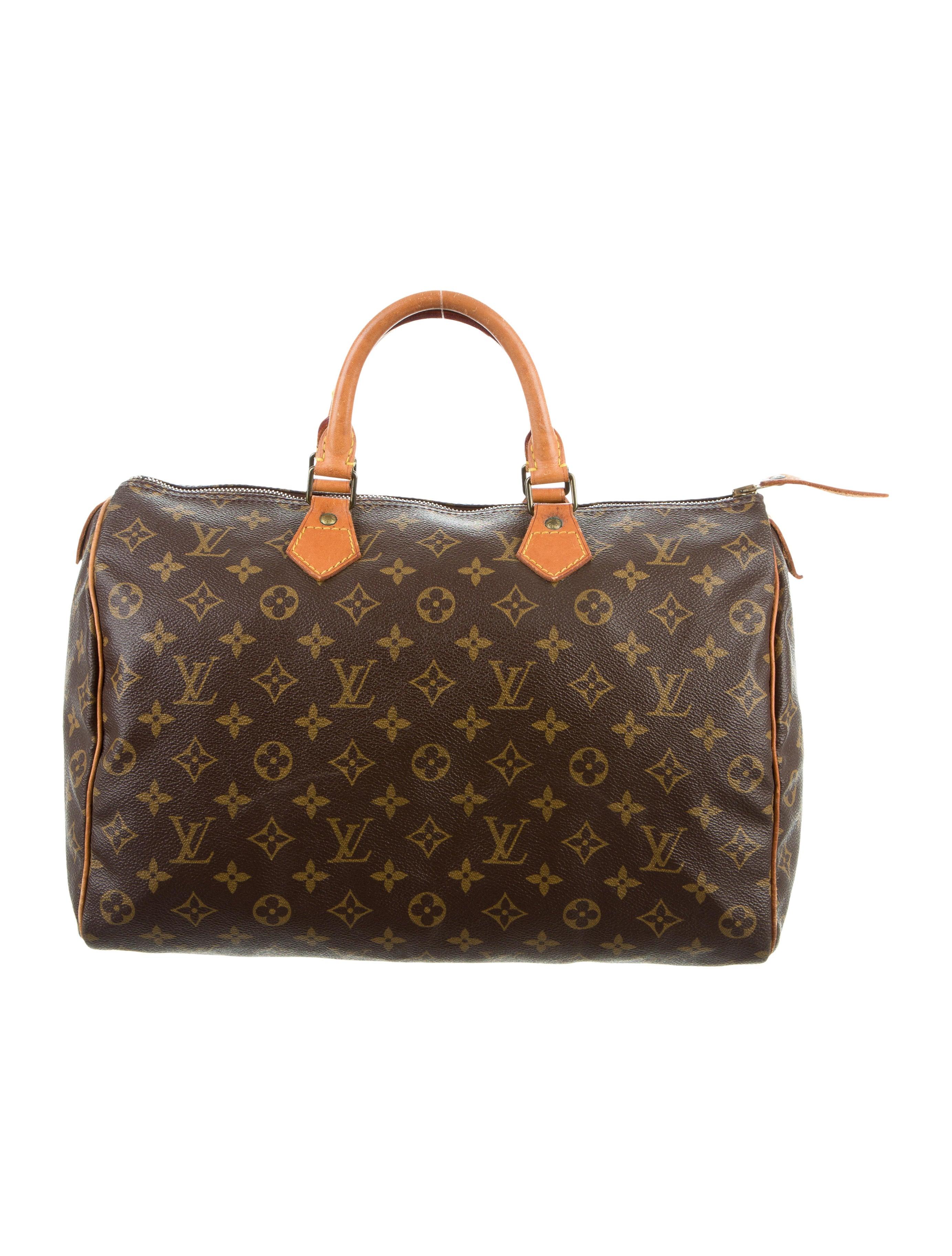 Louis vuitton monogram speedy 35 handbags lou120879 for Louis vuitton miroir speedy 35