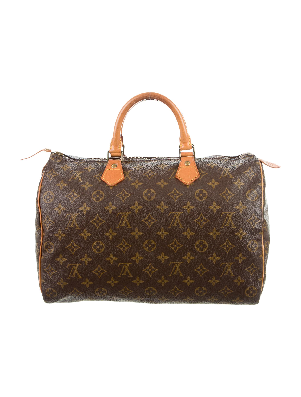 Louis vuitton monogram speedy 35 handbags lou120894 for Louis vuitton miroir speedy 35
