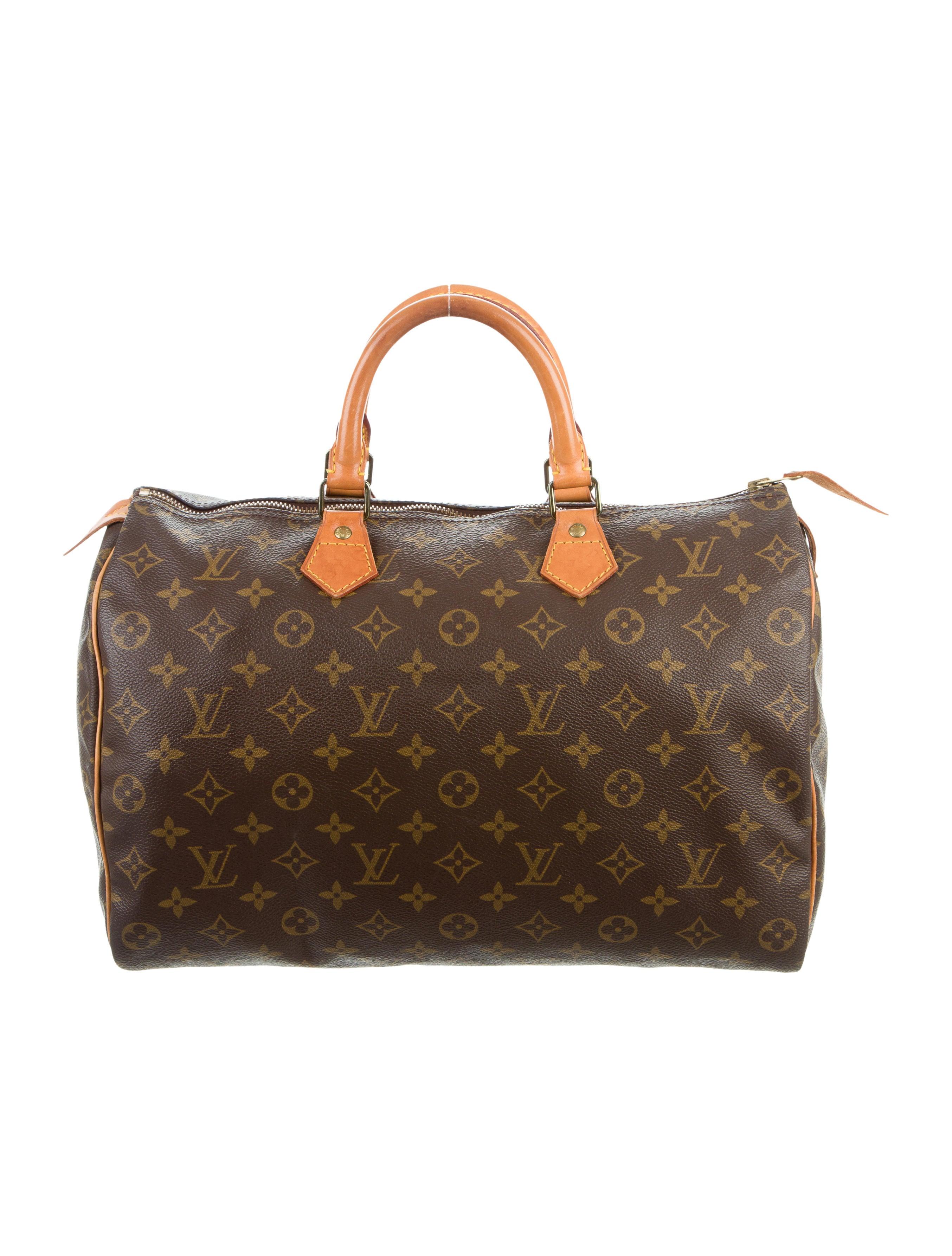 louis vuitton monogram speedy 35 handbags lou120910. Black Bedroom Furniture Sets. Home Design Ideas