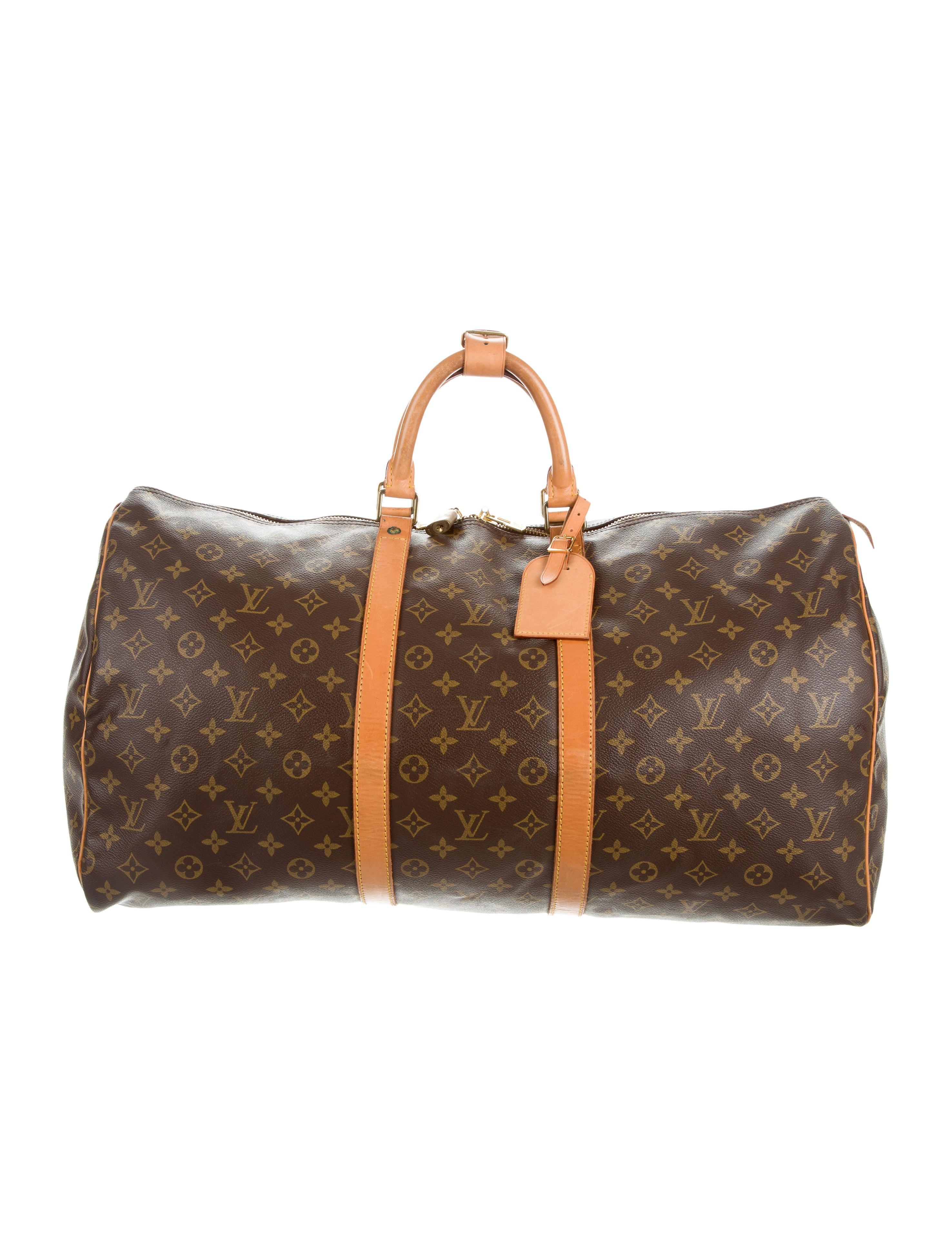 louis vuitton monogram keepall 55 handbags lou121222. Black Bedroom Furniture Sets. Home Design Ideas
