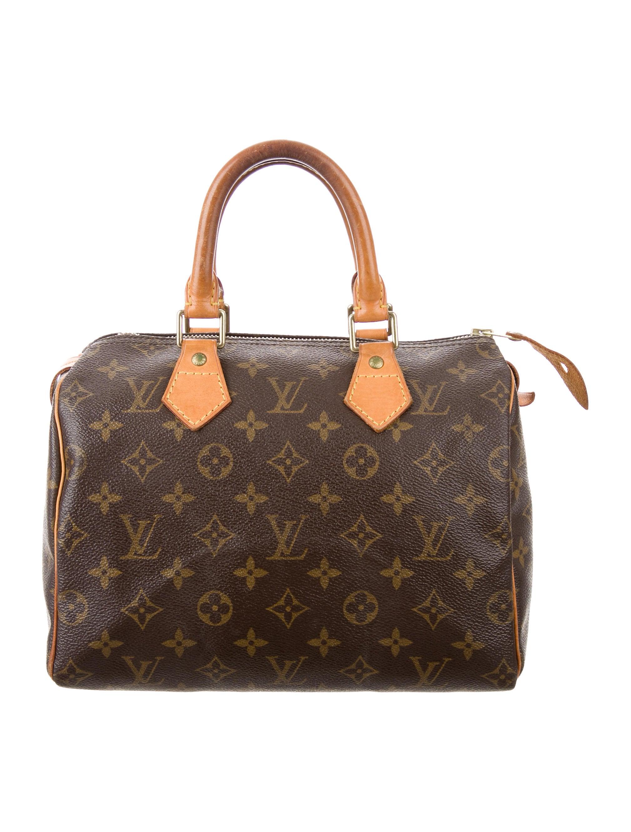 louis vuitton monogram speedy 25 handbags lou121245. Black Bedroom Furniture Sets. Home Design Ideas